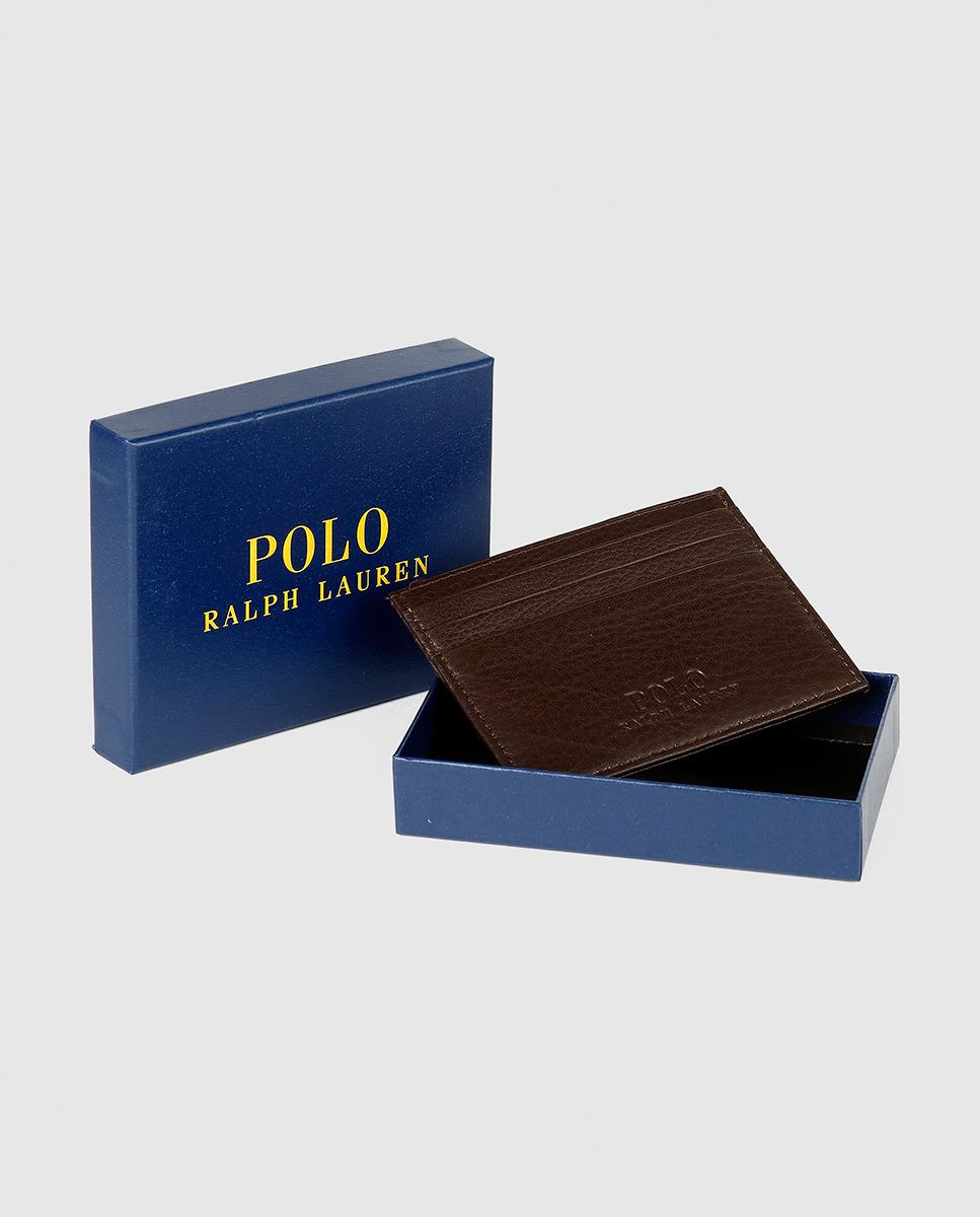 Lyst polo ralph lauren mens card holder in brown for men gallery colourmoves