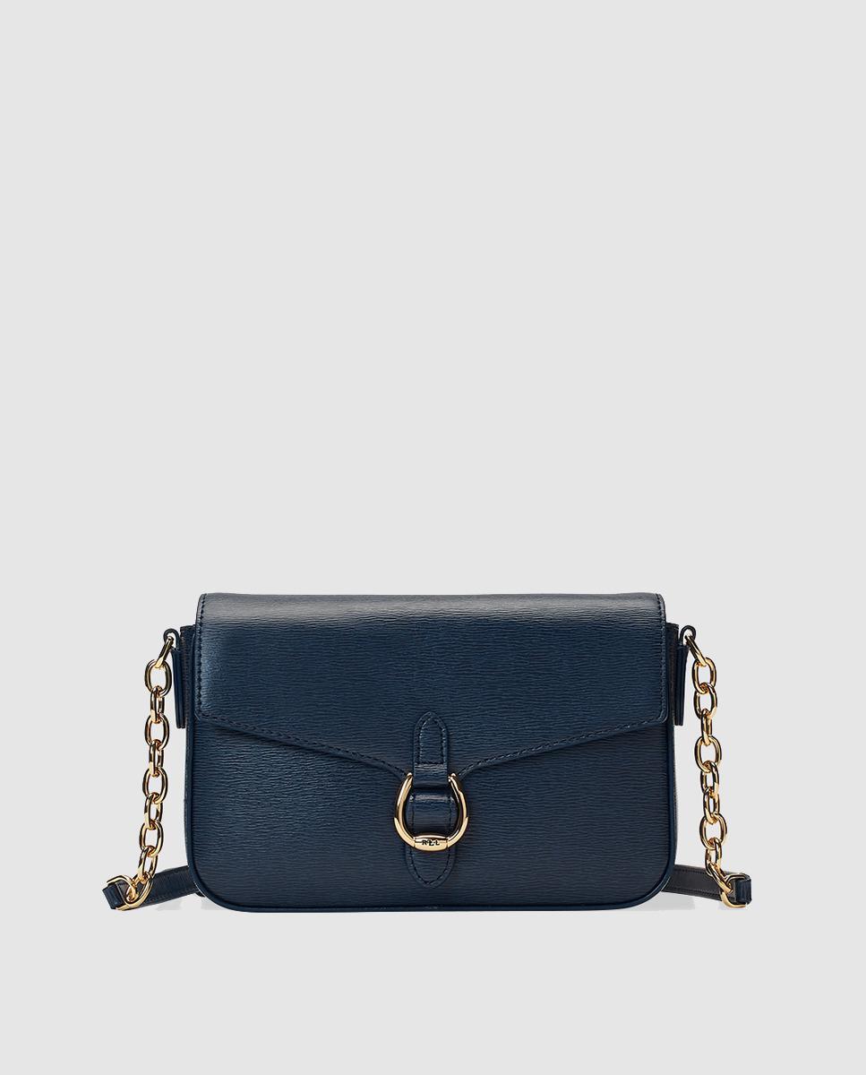 Lauren by Ralph Lauren. Women s Medium Navy Blue Saffiano Leather Crossbody  Bag ... 8942310cfc