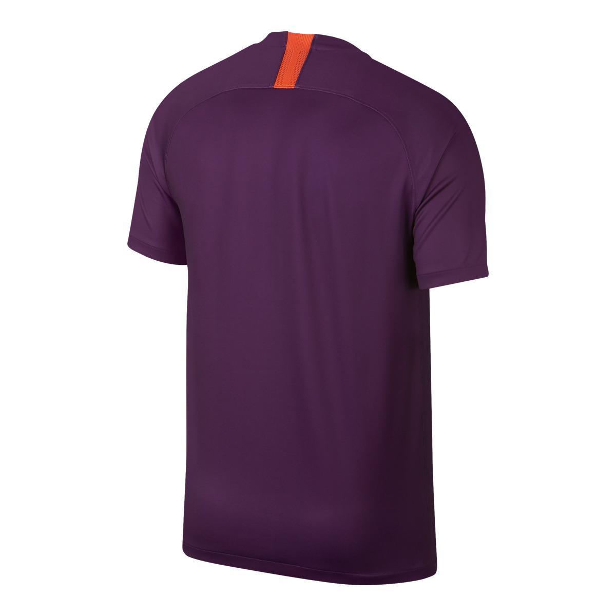 15e61601c5f Nike - Purple Manchester City Fc 2018-2019 Breathe Stadium Third Kit Shirt  for Men. View fullscreen