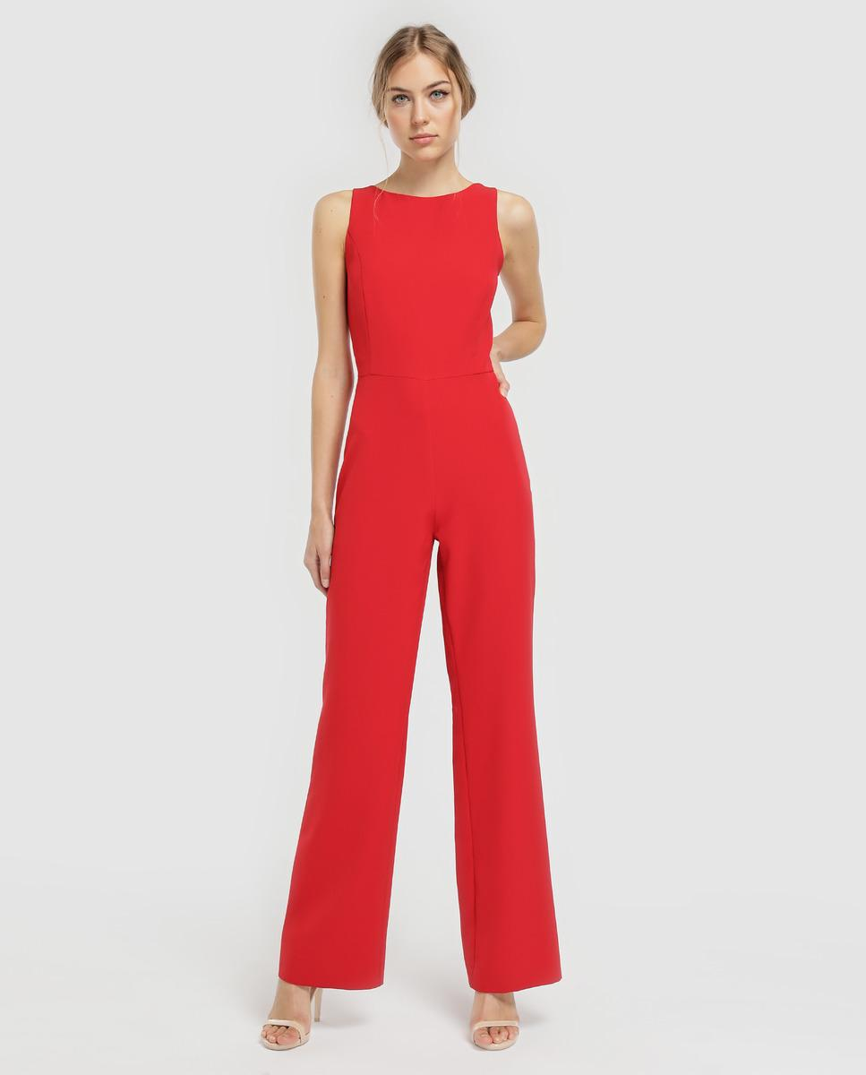 7c9d6045da1 Green Coast. Women s Red Green Jumpsuit With Straps On The Back.  68 From El  Corte Ingles