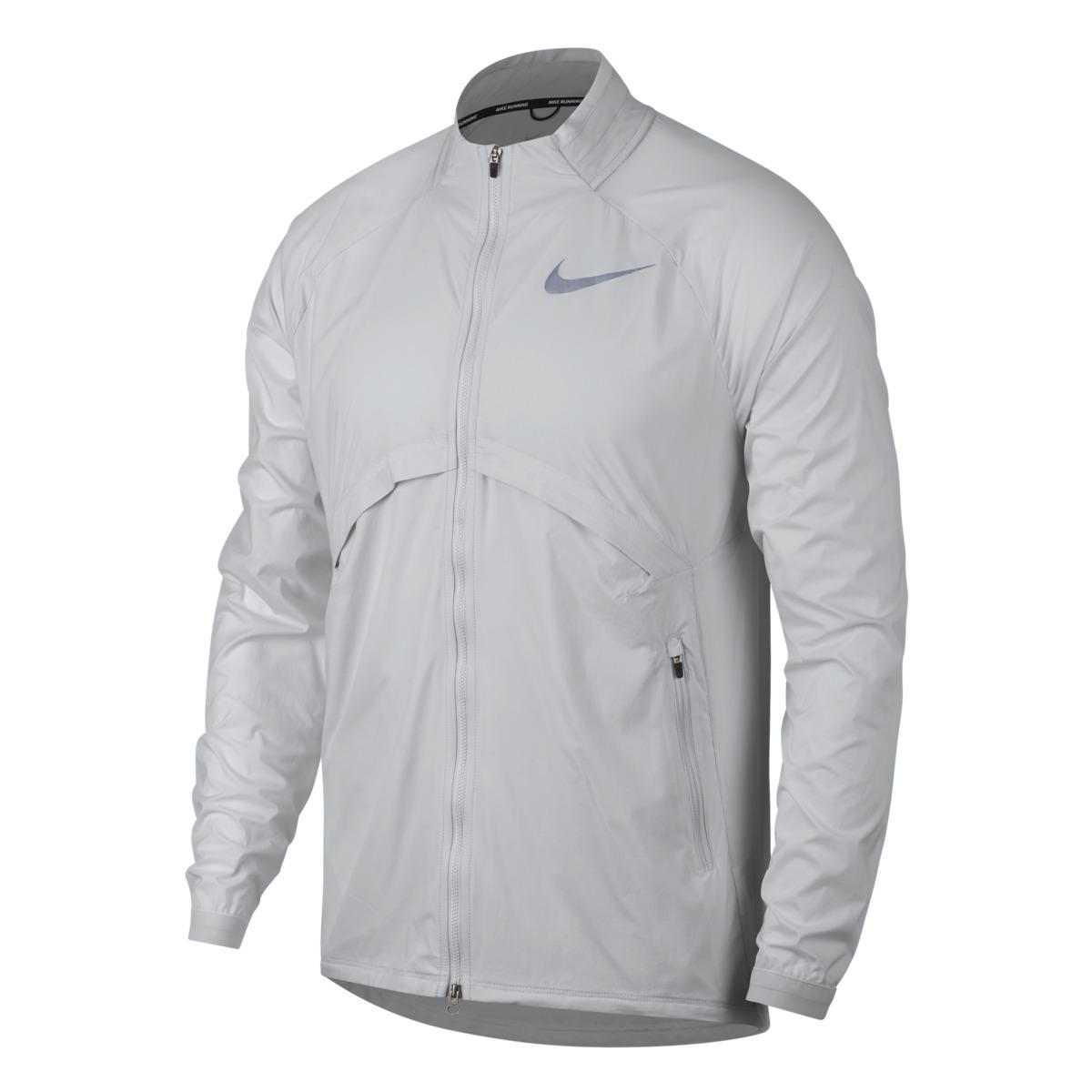 44f037ff47ed Lyst - Nike Shield Convertible Windcheater Jacket in White for Men