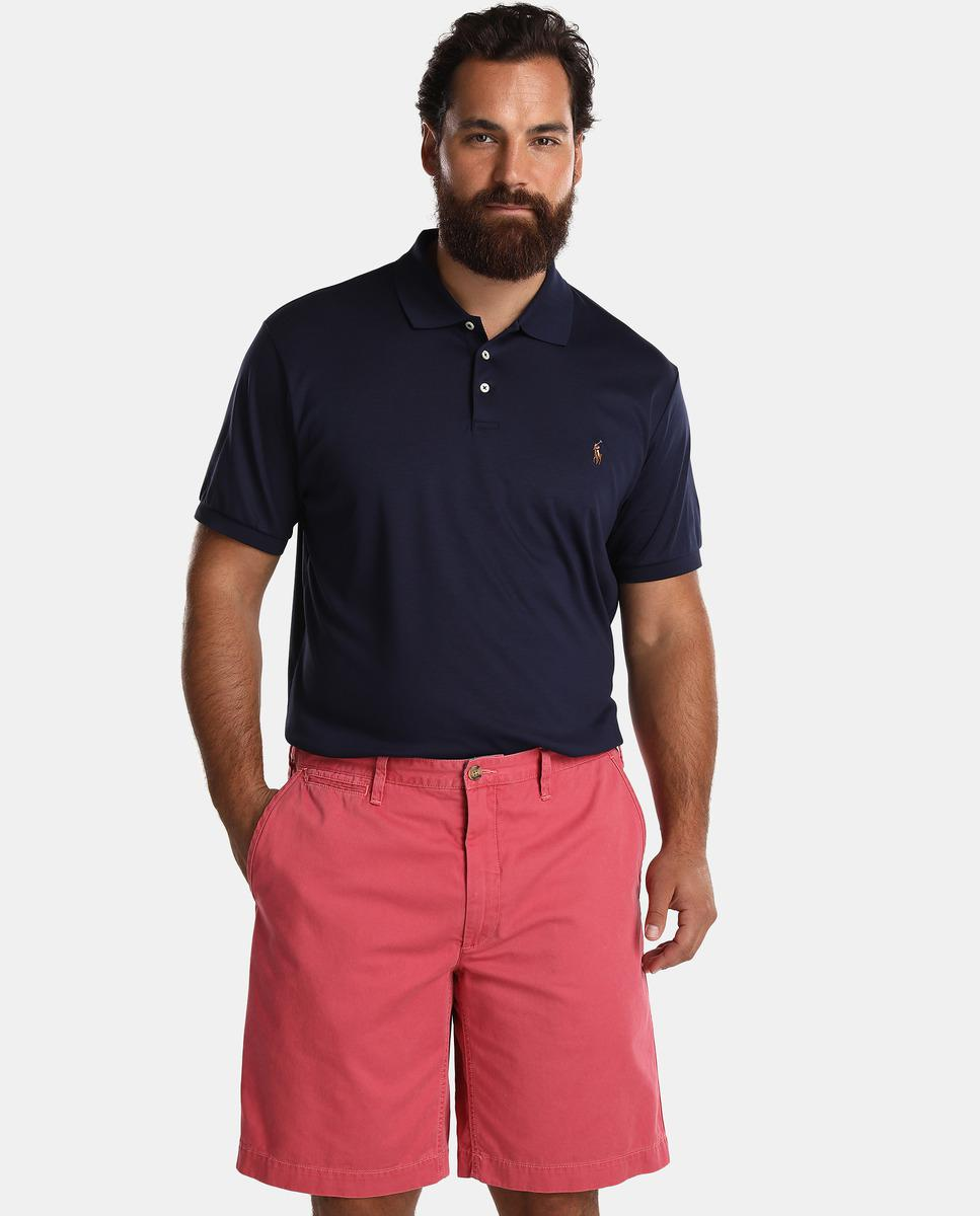 15385344ac Polo Ralph Lauren Big And Tall Plain Red Bermuda Shorts in Red for ...