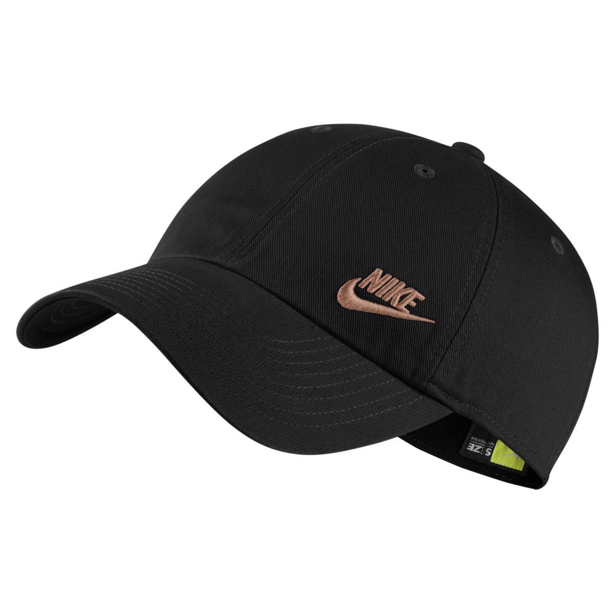 81ee460abba Nike Sportswear Heritage86 Cap in Black - Lyst