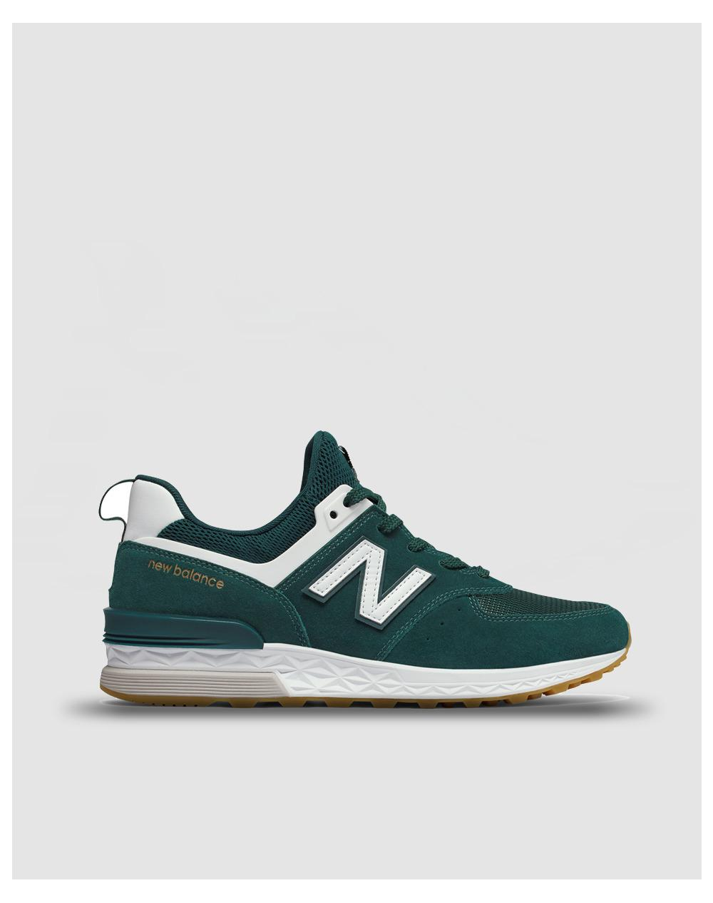 fe3e939f1855e New Balance 574 Casual Trainers in Green for Men - Lyst