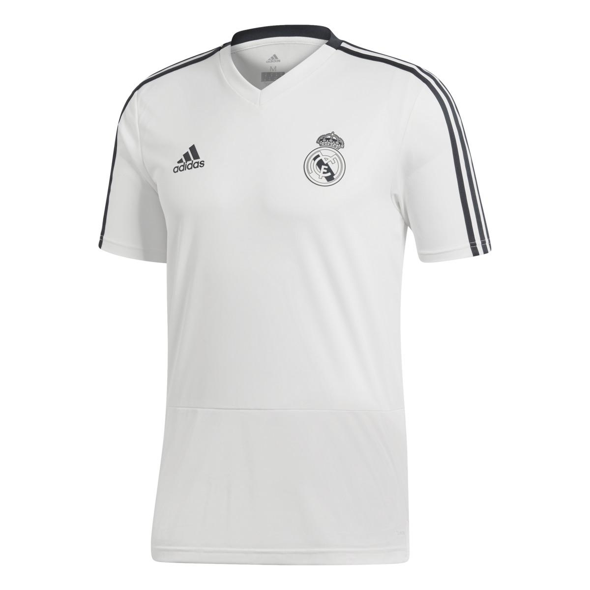 15a0535555d adidas Real Madrid Cf 2018-2019 Training Shirt in White for Men - Lyst