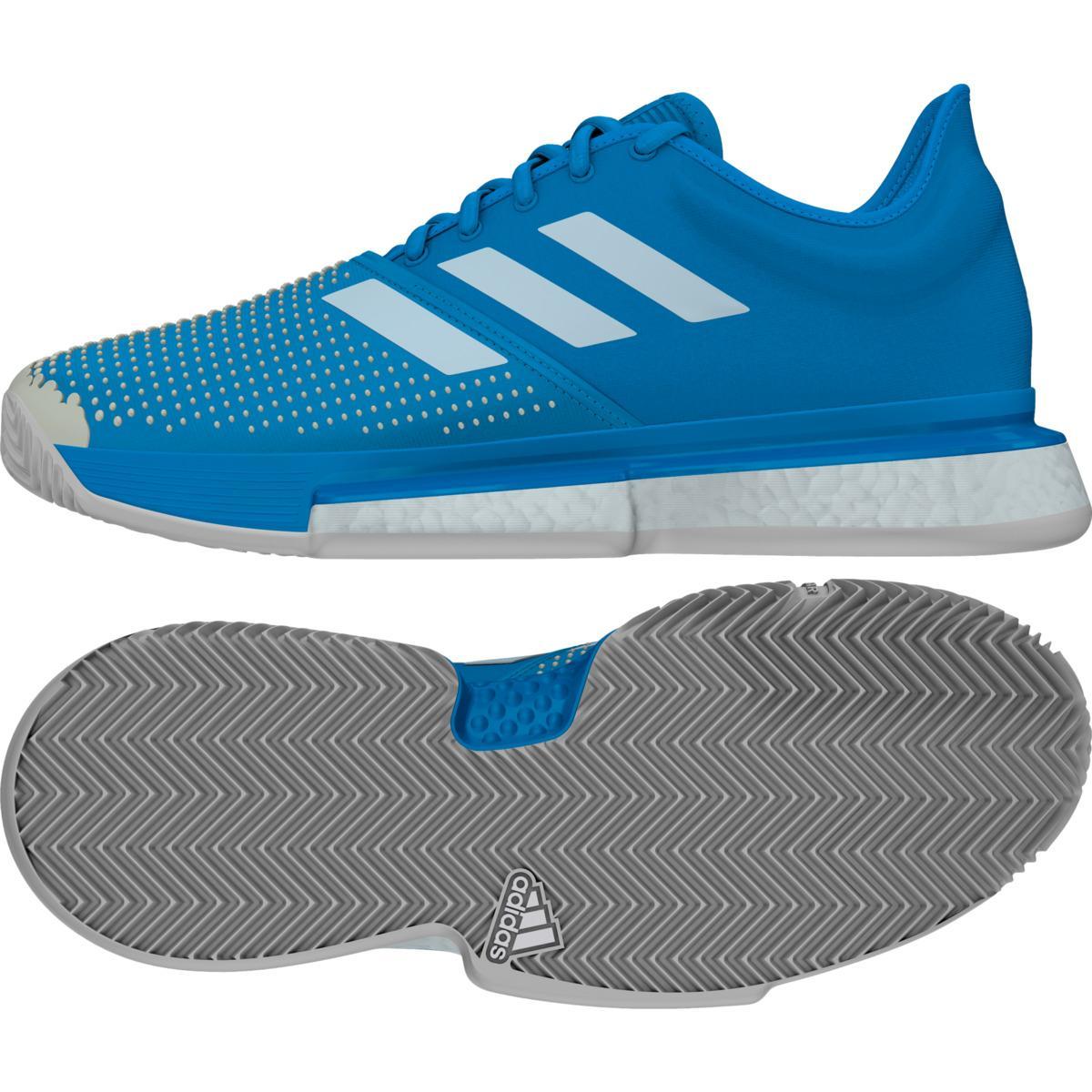 e0bd38884 Adidas - Blue Solecourt Boost Clay Tennis padel Tennis Shoes for Men -  Lyst. View fullscreen