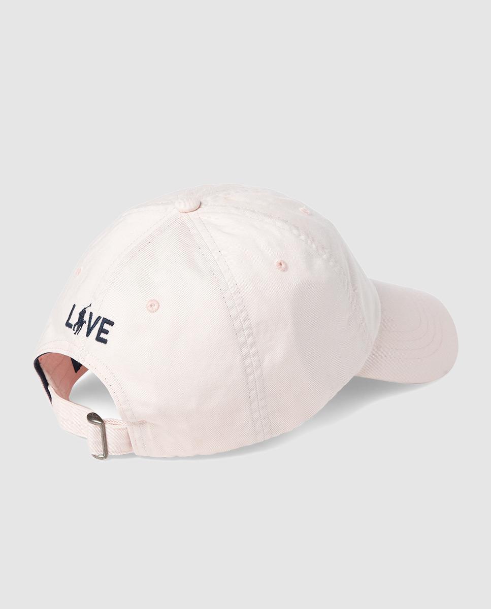 Lyst - Lauren By Ralph Lauren Wo White Cotton Cap in White 4abac93d7222