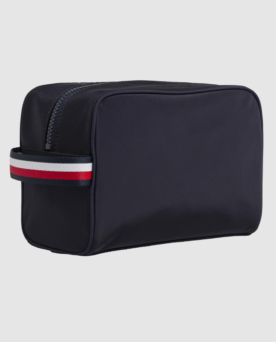 f385b8b015e Tommy Hilfiger Navy Blue Toiletry Bag With Zip in Blue for Men - Lyst