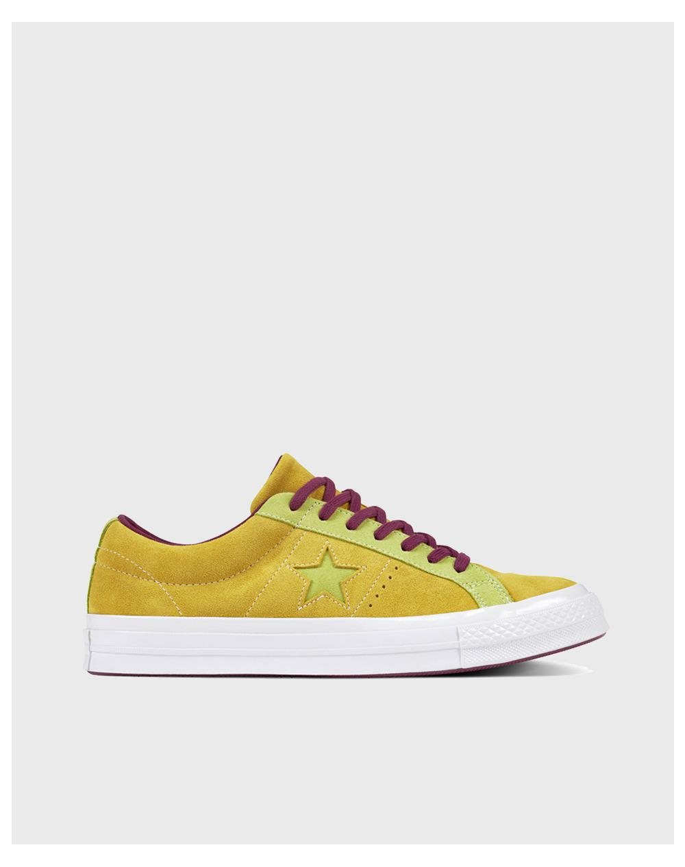 1fc8077f547 Converse One Star Carnival Ox Unisex Casual Trainers in Yellow for ...
