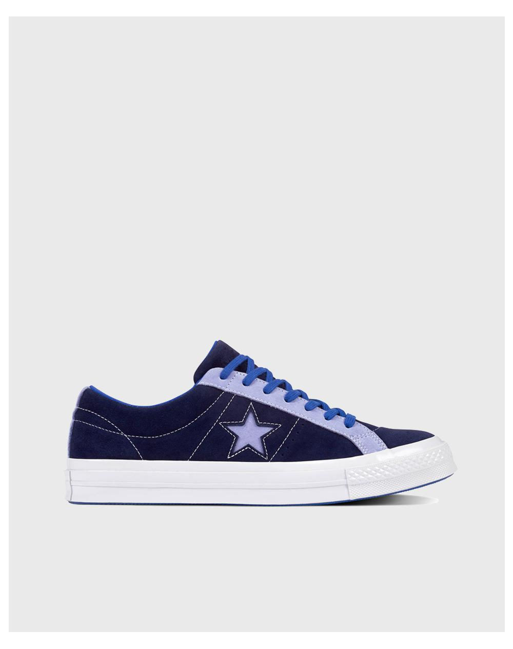 36607854d728 Converse One Star Carnival Ox Unisex Casual Trainers in Blue for Men ...
