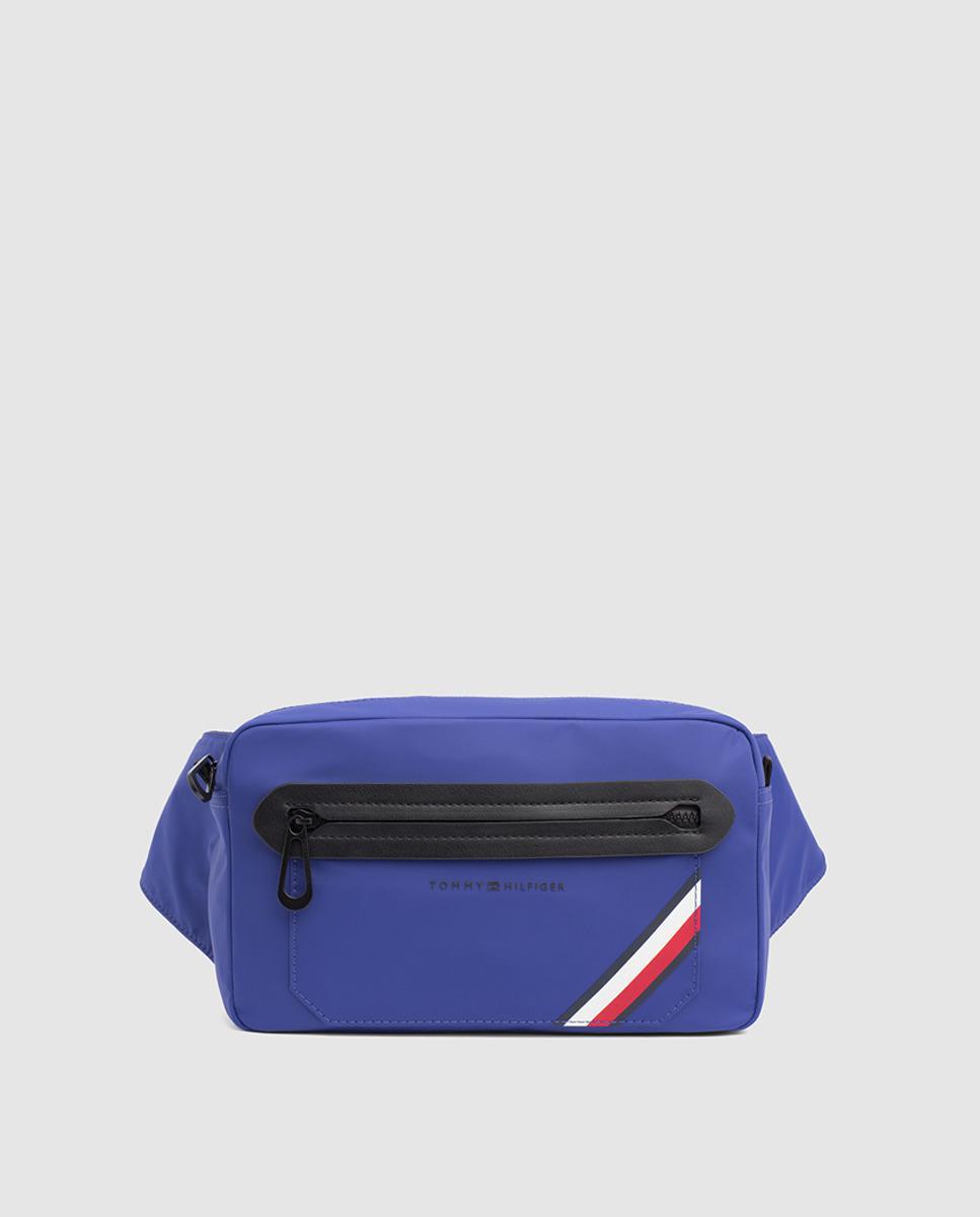 310e45b4398 Tommy Hilfiger Blue Belt Bag With Pocket in Blue for Men - Save 50 ...