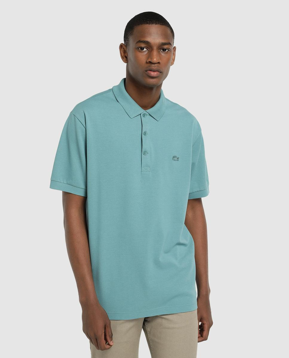306e0291d Lyst - Lacoste Classic-fit Blue Short Sleeve Polo Shirt in Blue for Men