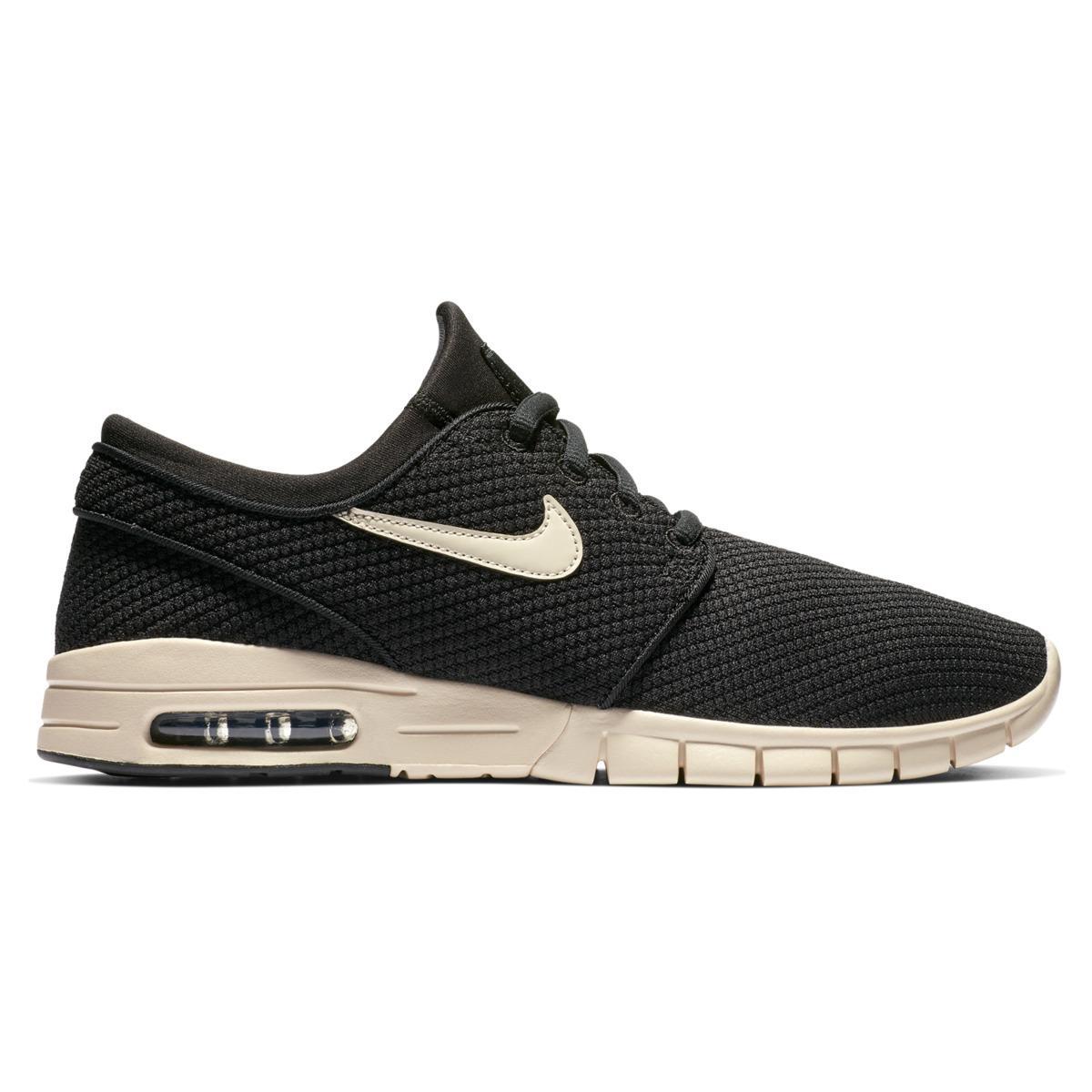 designer fashion 89218 b7071 Nike - Black Sb Stefan Janoski Max Skateboarding Skater Trainers for Men -  Lyst. View fullscreen