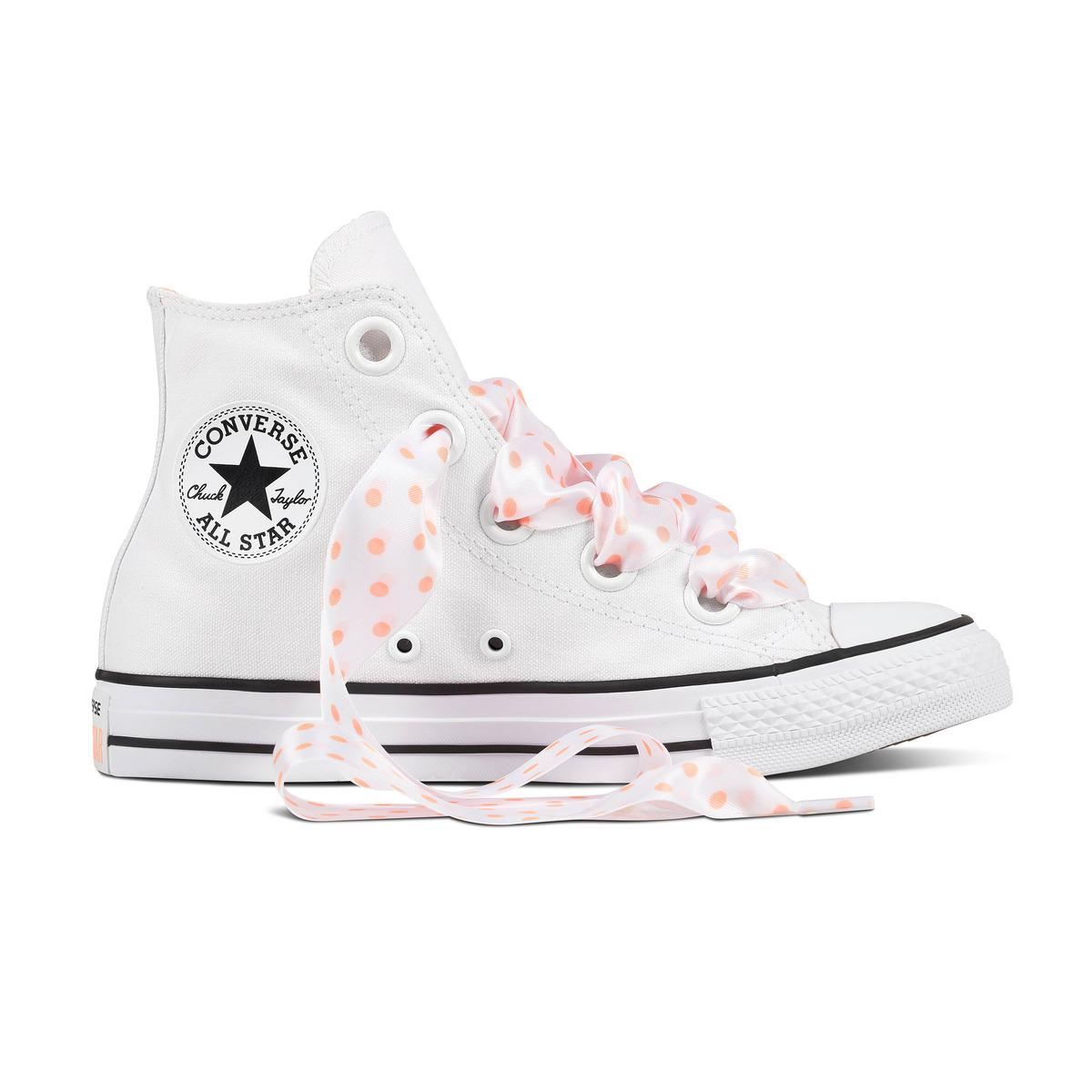 0893fa4cba5577 Converse Chuck Taylor All Star Big Eyelet Hi Casual Trainers in ...