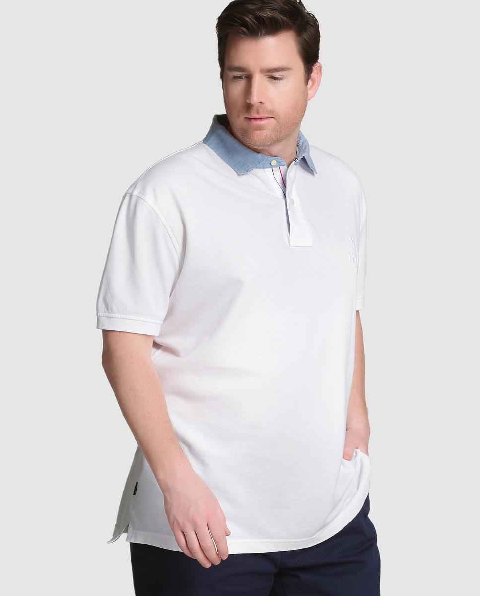 Tommy Hilfiger Big And Tall Short Sleeved Piqu Polo Shirt