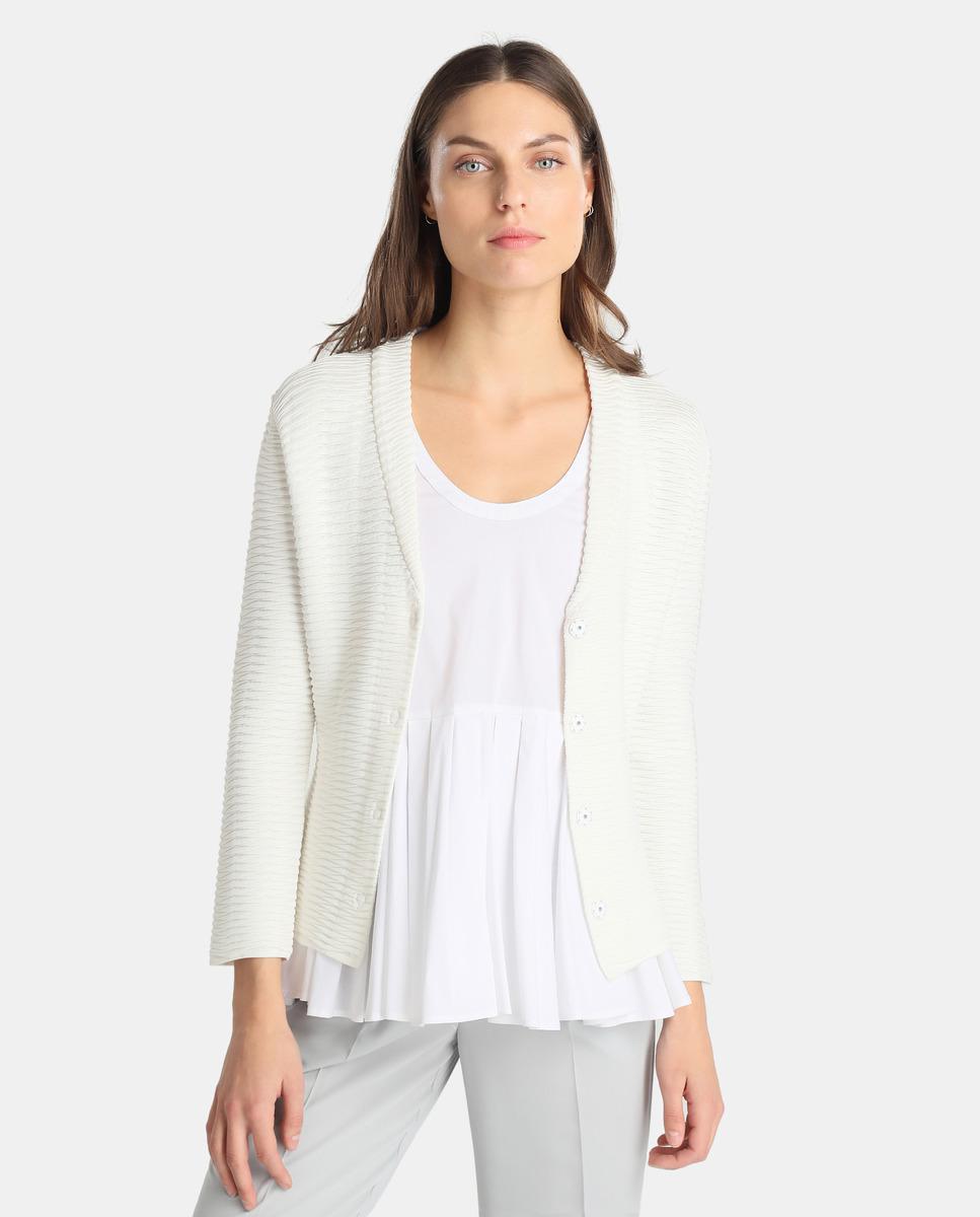 Veste blanc armani femme