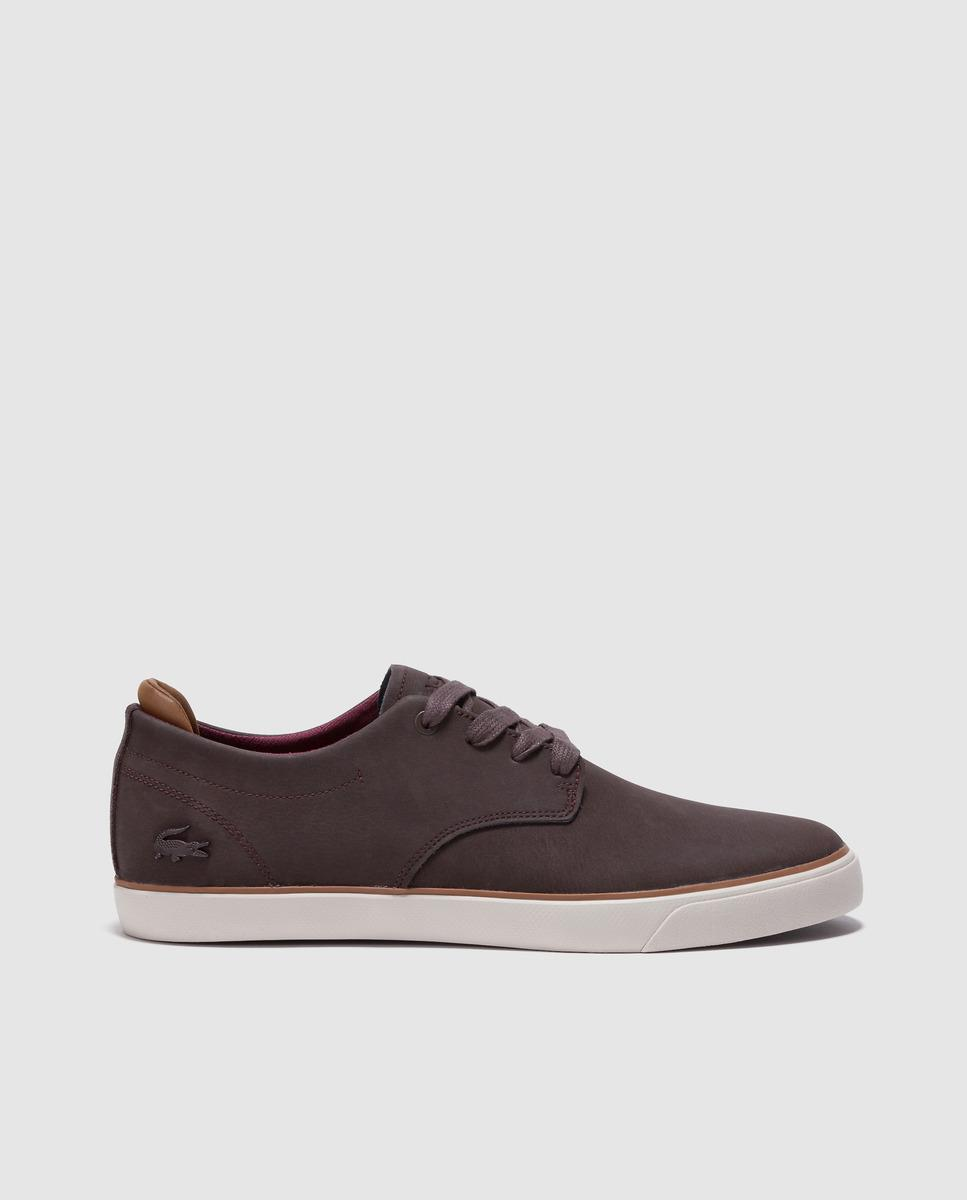 771f5a618f318 Lyst - Lacoste Brown Trainers in Brown for Men