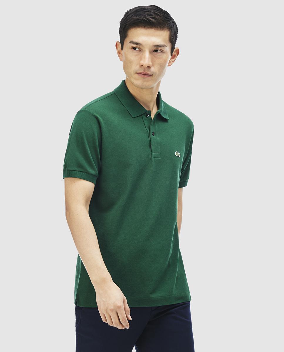 c72550fcf Lacoste Mens Green Short Sleeved Polo Shirt in Green for Men - Lyst