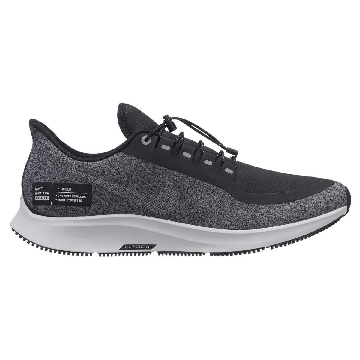 437b8ddd724a1 Nike Air Zoom Pegasus 35 Shield Running Shoes in Black for Men - Lyst