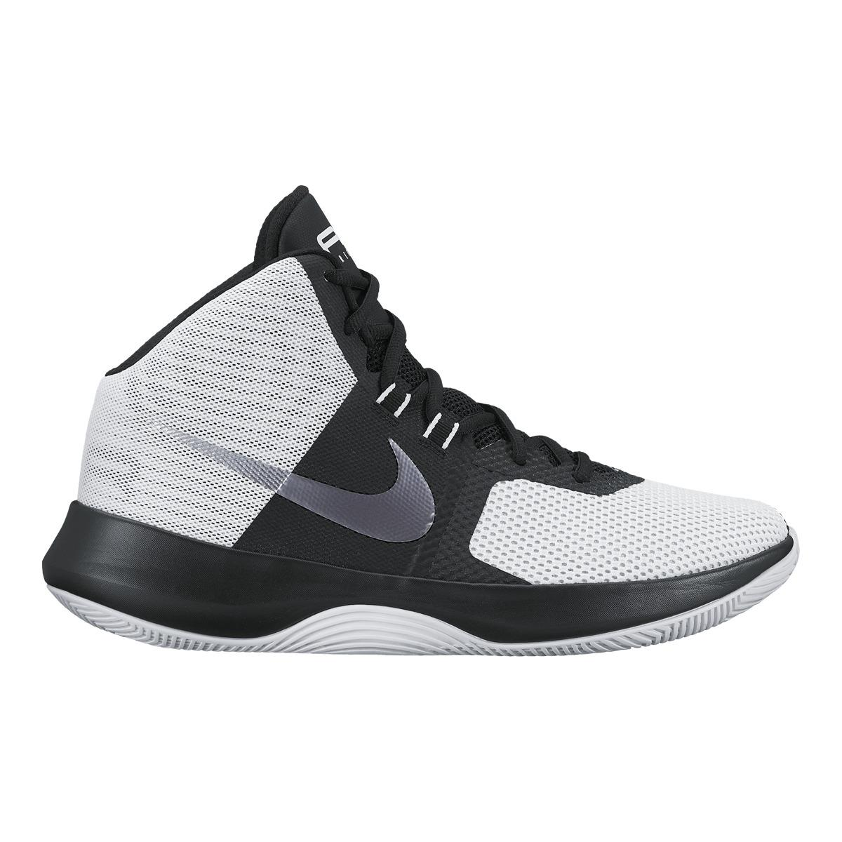 new styles 86c1b 58d36 Nike Air Precision Basketball Boots in Black for Men - Lyst