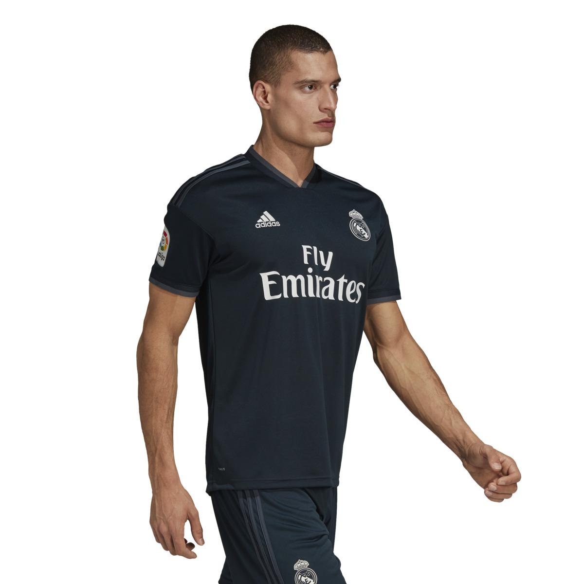 d444c1573ae adidas Real Madrid Cf 2018-2019 Away Strip T-shirt in Gray for Men ...