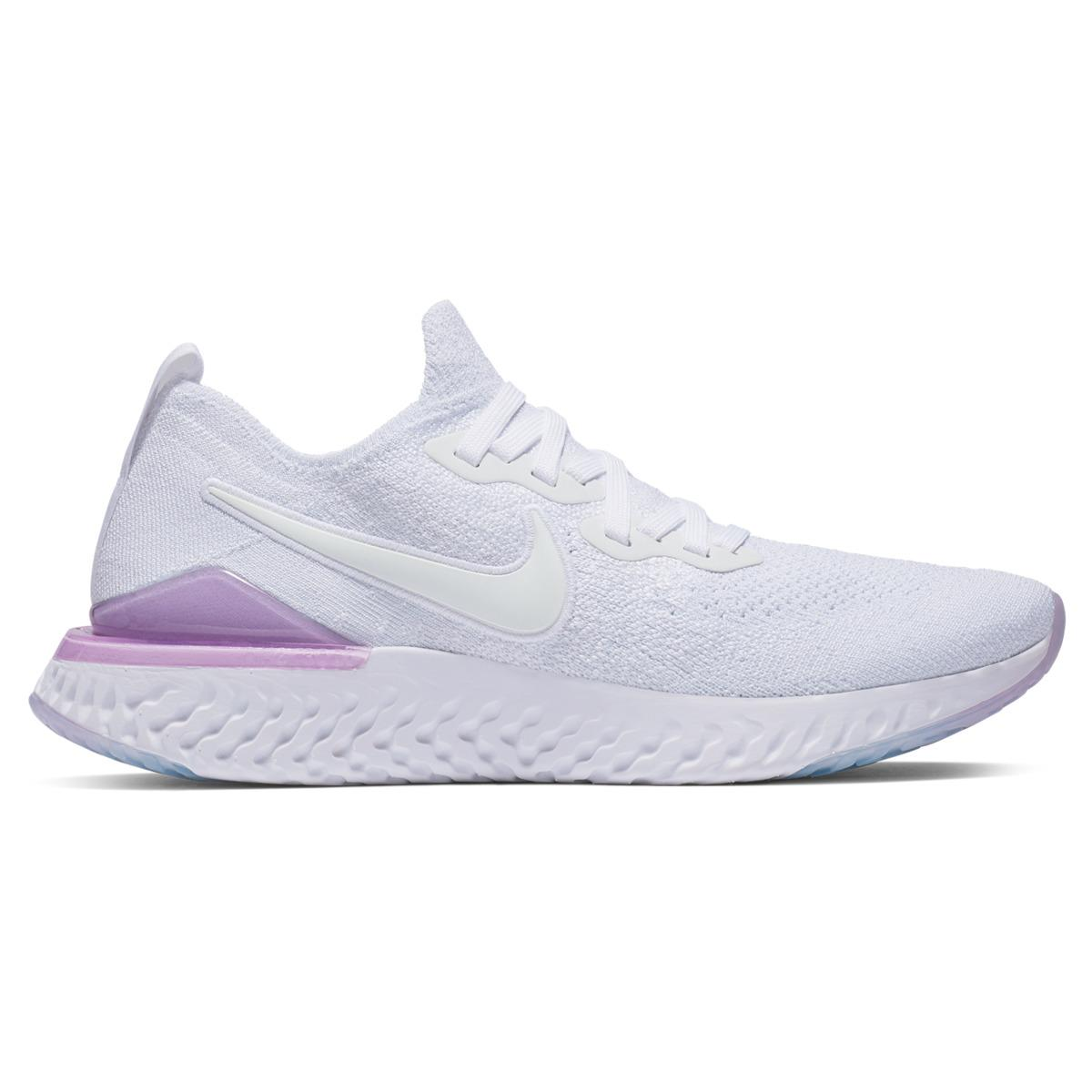5fbbb212358b Nike Epic React Flyknit 2 Running Shoes in White - Save 1% - Lyst