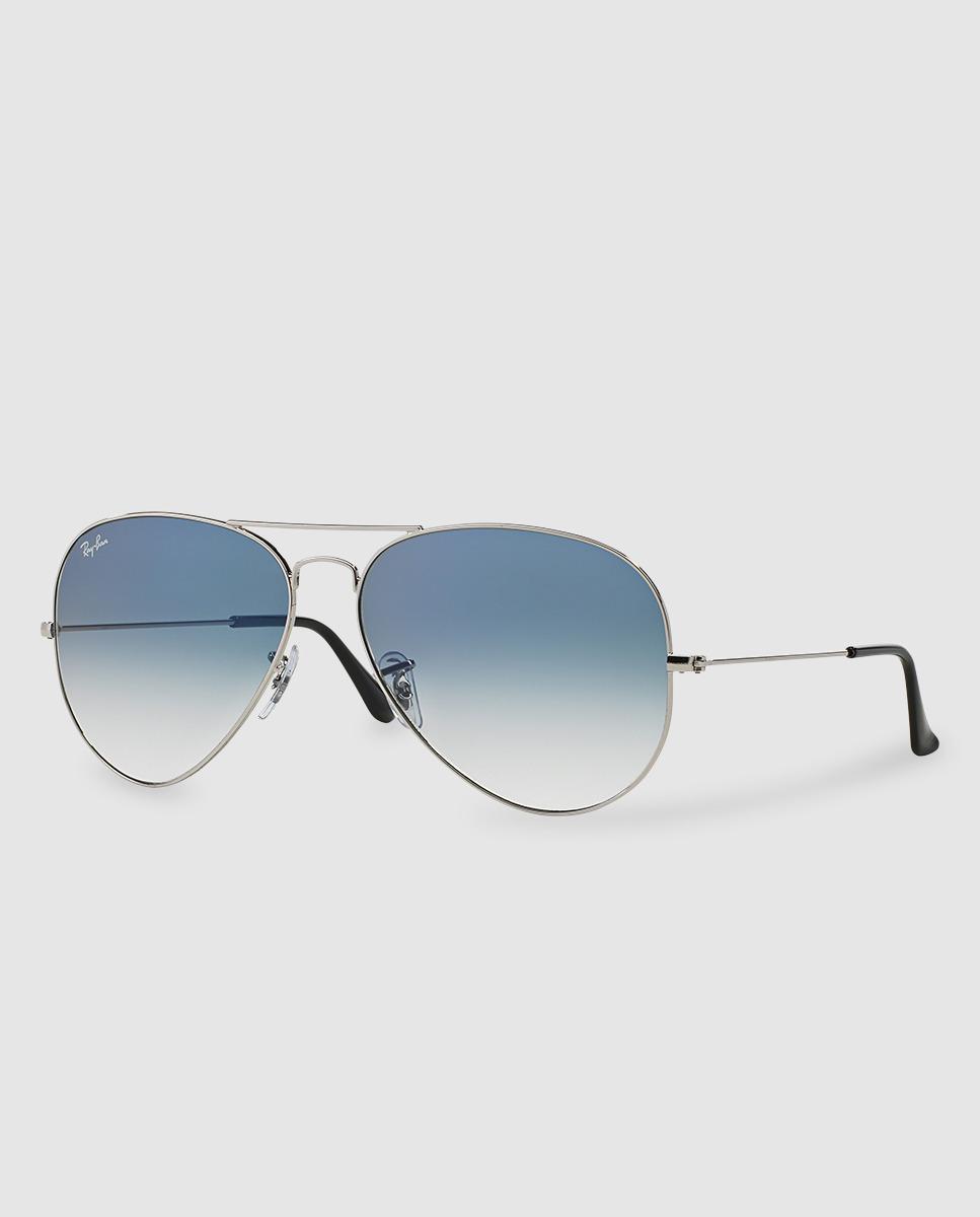 2d821e3b248 Ray-Ban Aviator Blue Sunglasses in Metallic for Men - Lyst