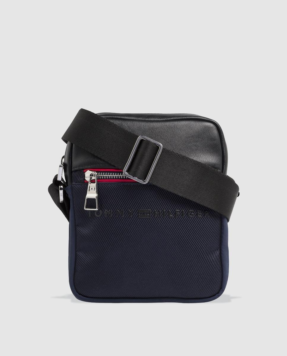 96306783879 Tommy Hilfiger Small Navy Blue Crossbody Bag With Zip in Blue for ...