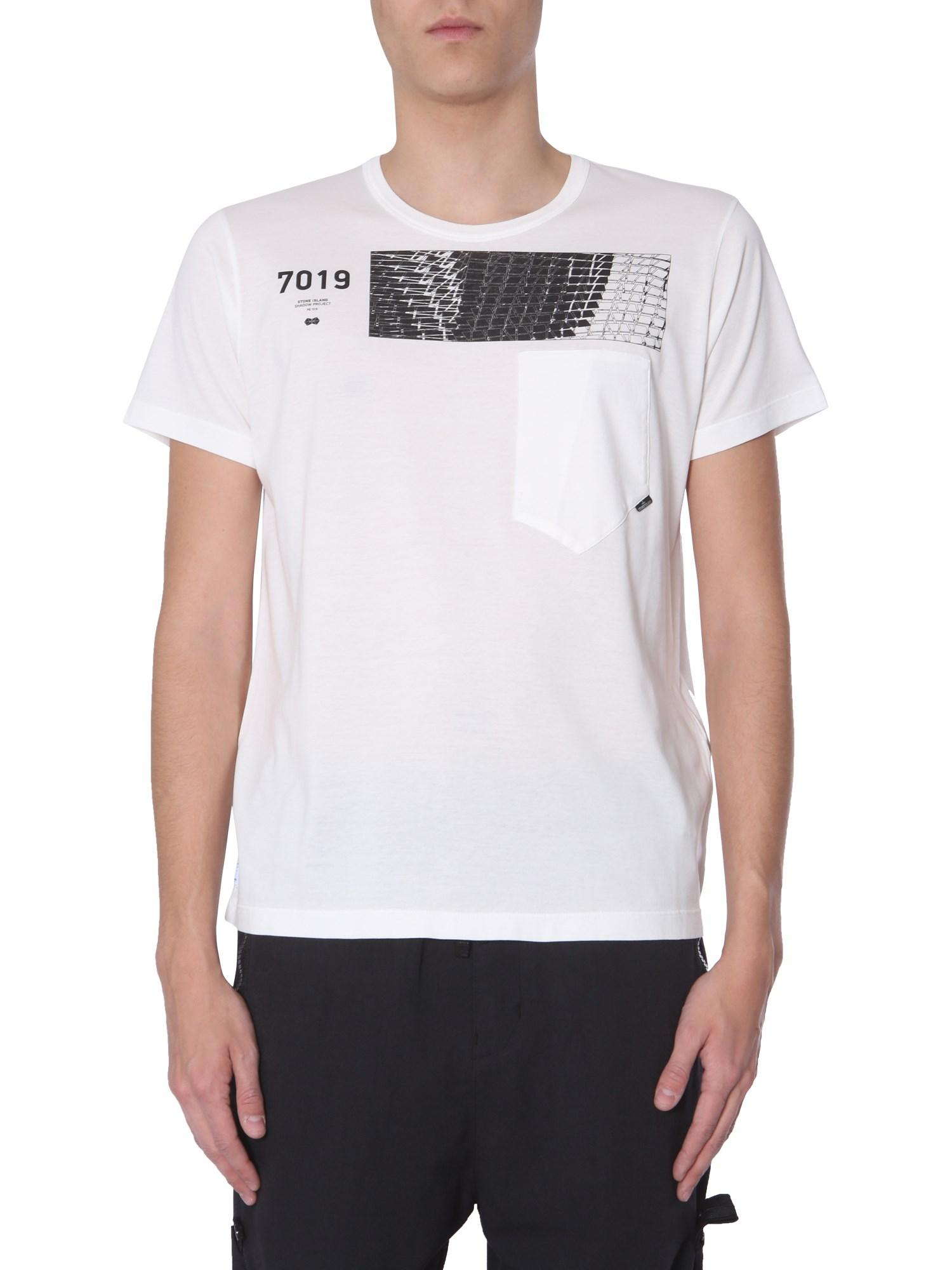 f6ecb15e Lyst - Stone Island Shadow Project T-shirt Girocollo In Cotone in ...