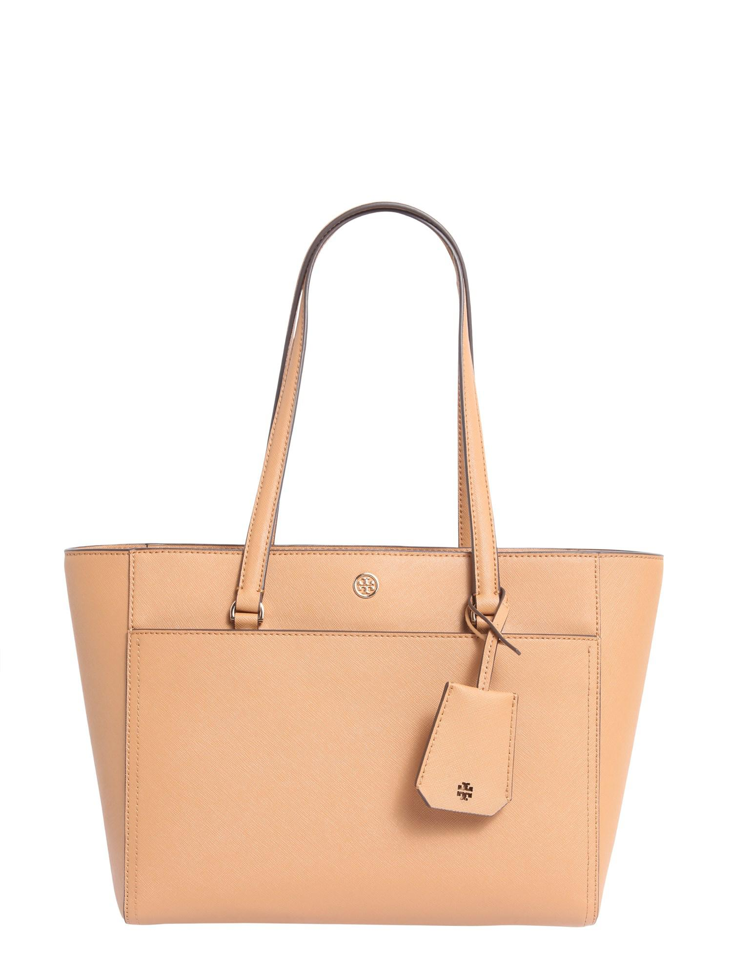34233d1a732d Tory Burch. Women s Small Robinson Saffiano Leather Tote Bag