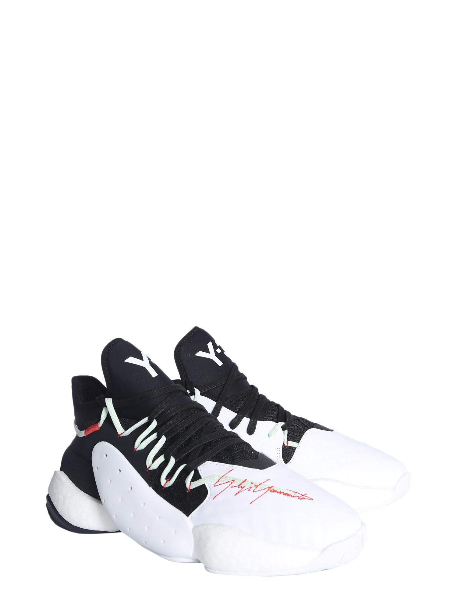 newest b932d fba39 Y-3 - Multicolor Sneaker Byw Bball In Neoprene E Pelle for Men - Lyst. View  fullscreen