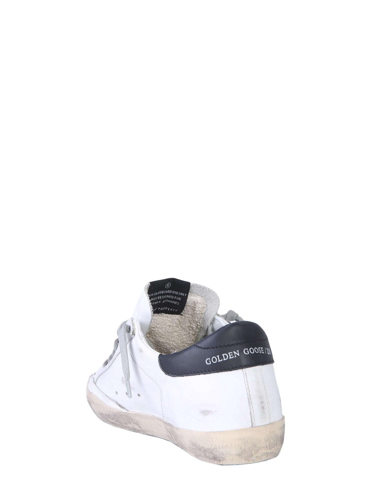 fee8b0b09b Golden Goose Deluxe Brand Sneaker Superstar In Pelle in White - Lyst