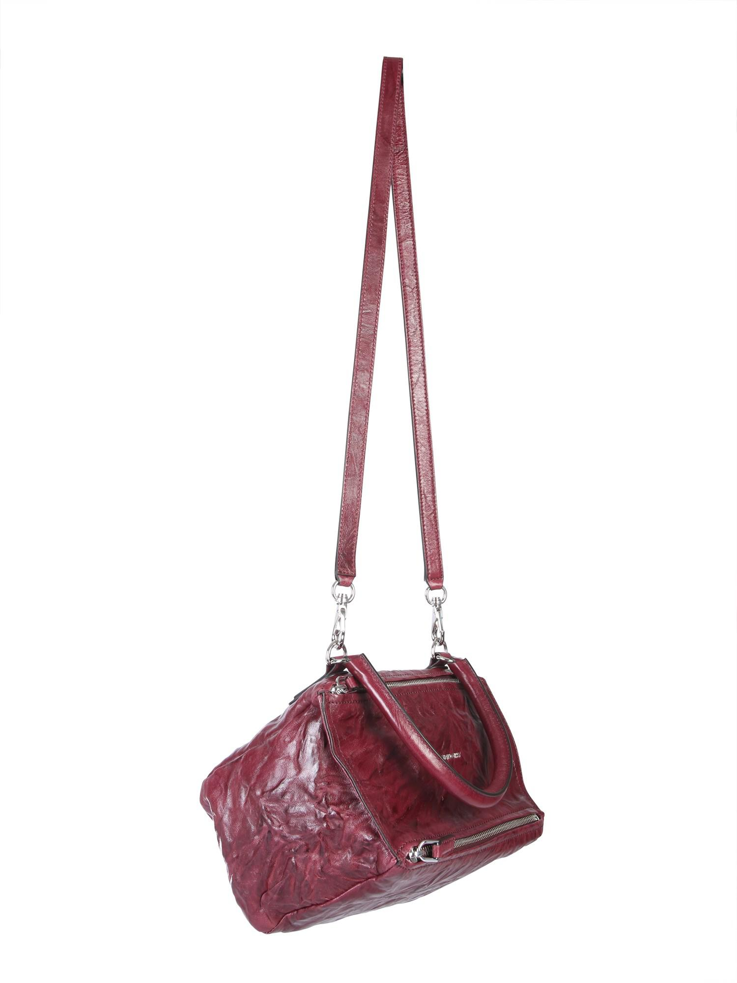 0eff3fbf255 Givenchy - Multicolor Small Pandora Bag In Aged Leather - Lyst. View  fullscreen