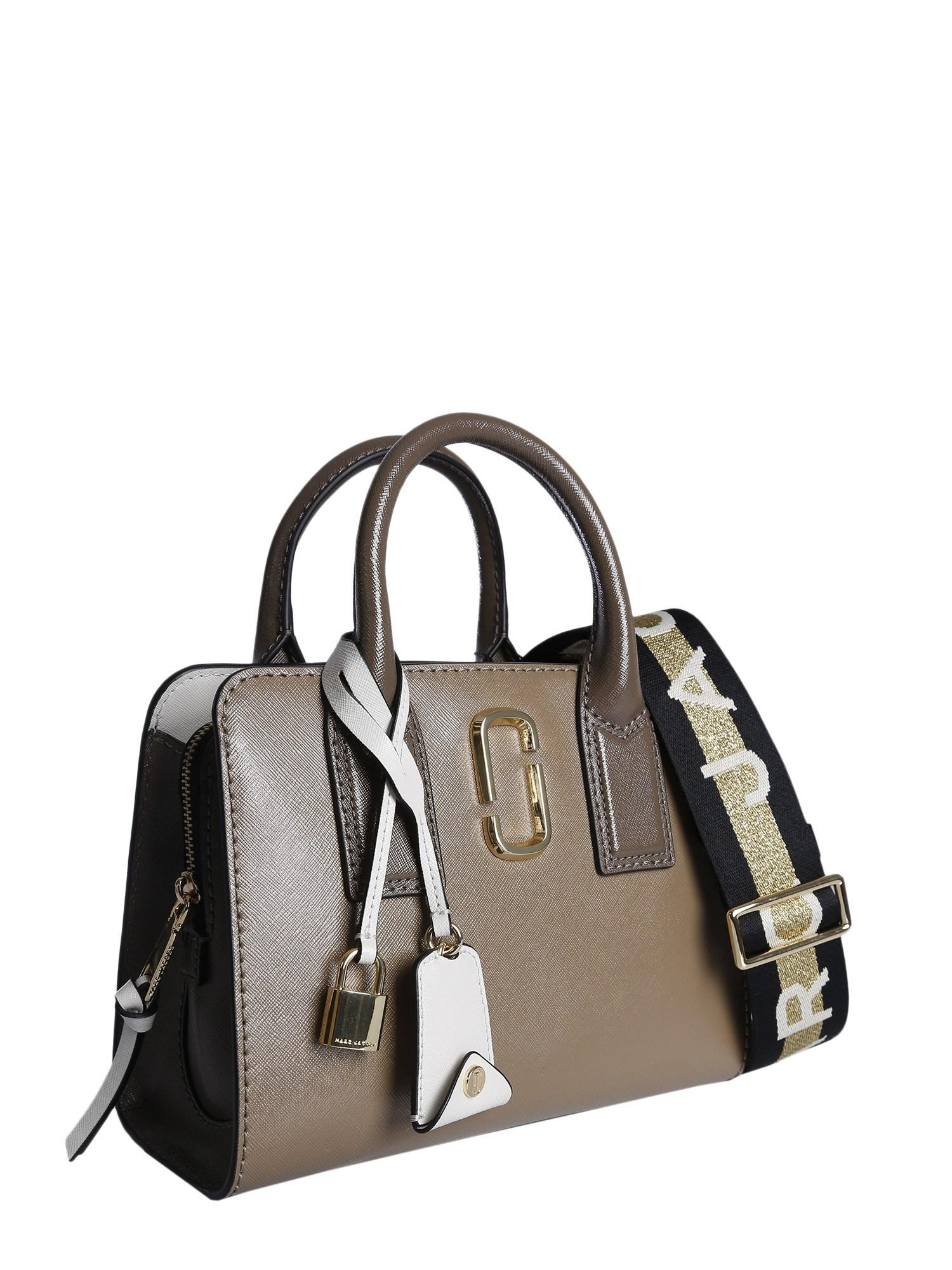 acb6cfc09e83 Marc Jacobs Brown Leather Handbag in Brown - Save 1% - Lyst