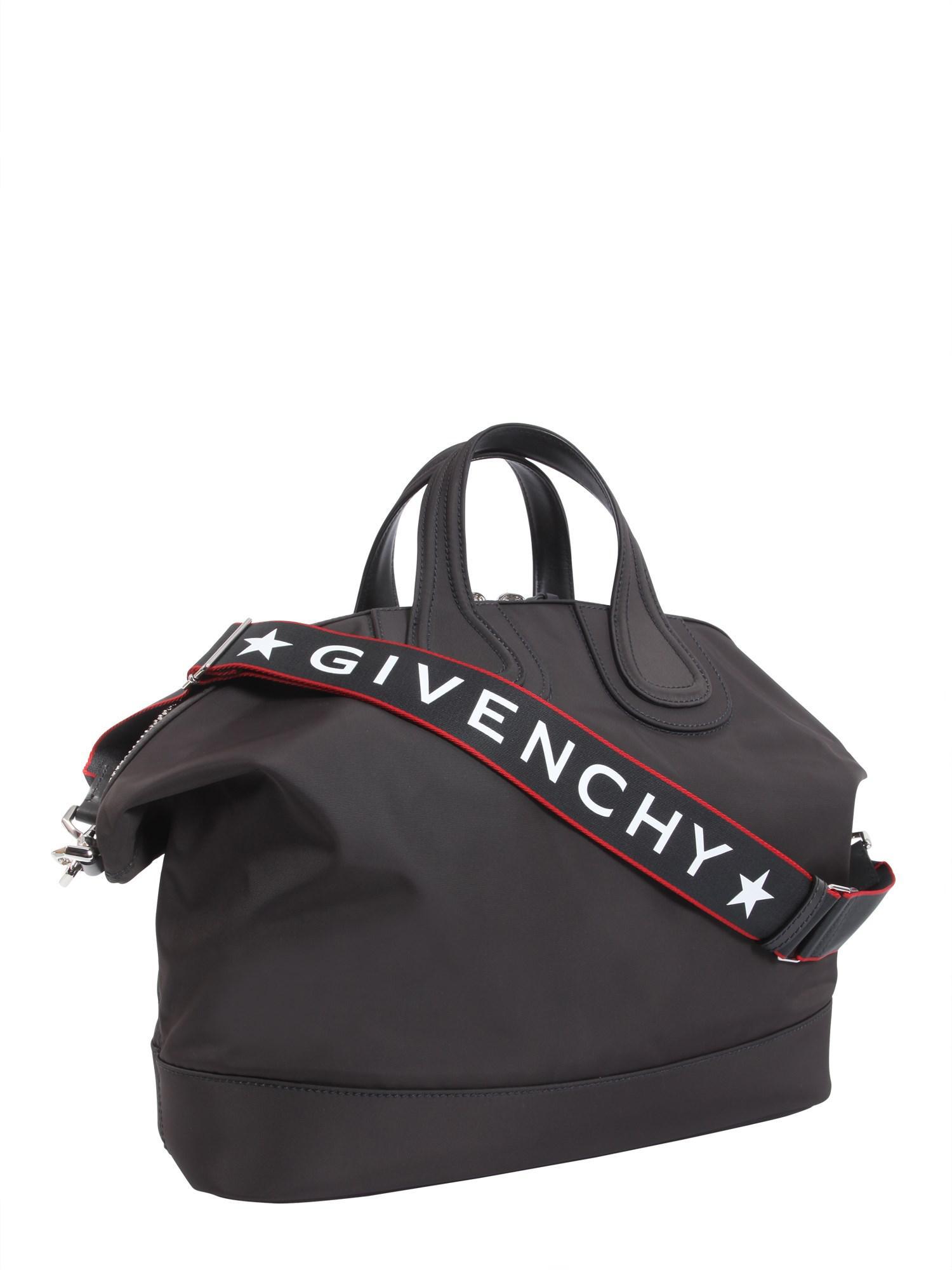 e64696be6819 Givenchy - Gray Nightingale Nylon Handbag - Lyst. View fullscreen
