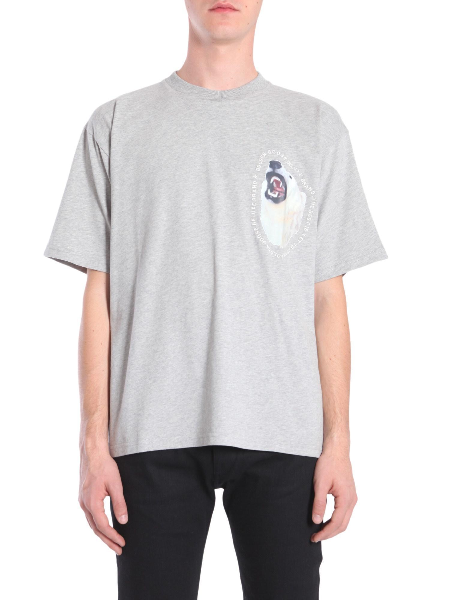 Browse Sale Online High Quality Edward T-shirt - White Golden Goose VvMIL1