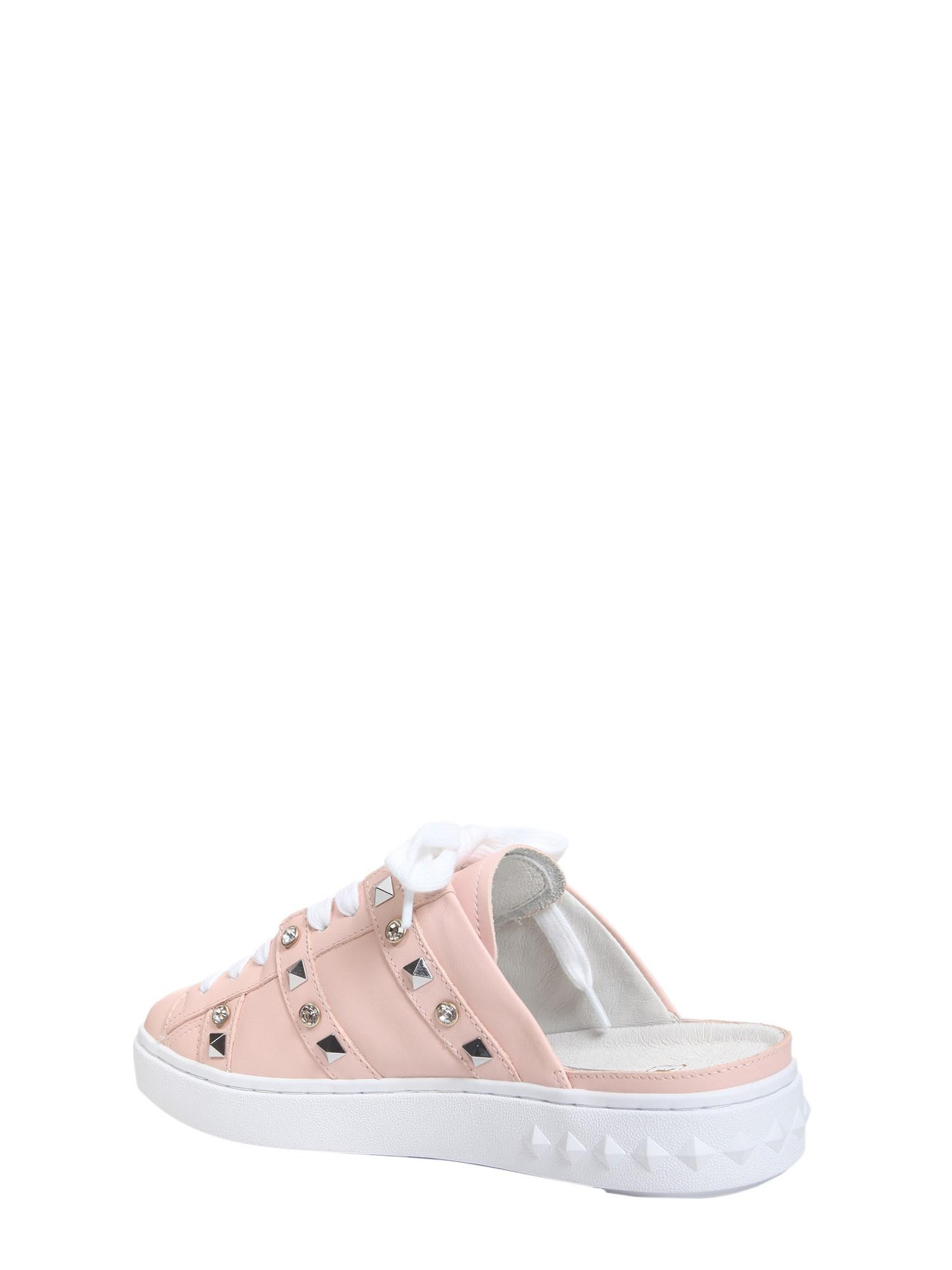 Ash Party Slip-on Leather Sneakers in Pink - Save 50% - Lyst 4ff31f0c1