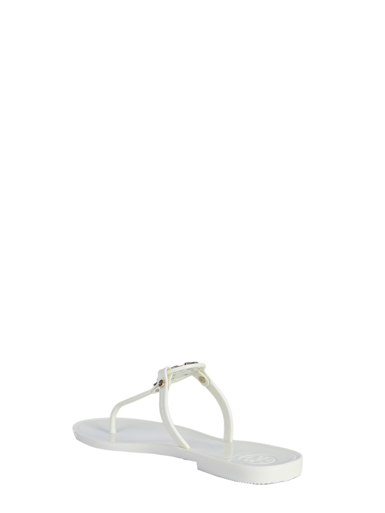 0e1d83caf04 Tory Burch - White Mini Miller Jelly Throttle Sandal - Lyst. View fullscreen
