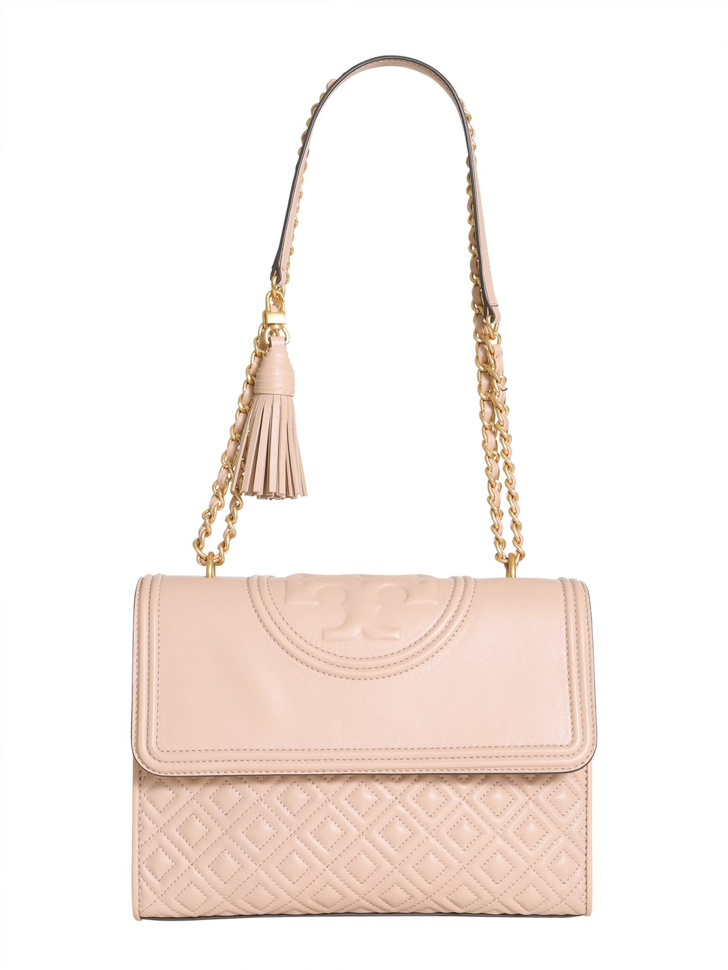 5d7be5d54076 Lyst - Tory Burch Flaming Leather Bag