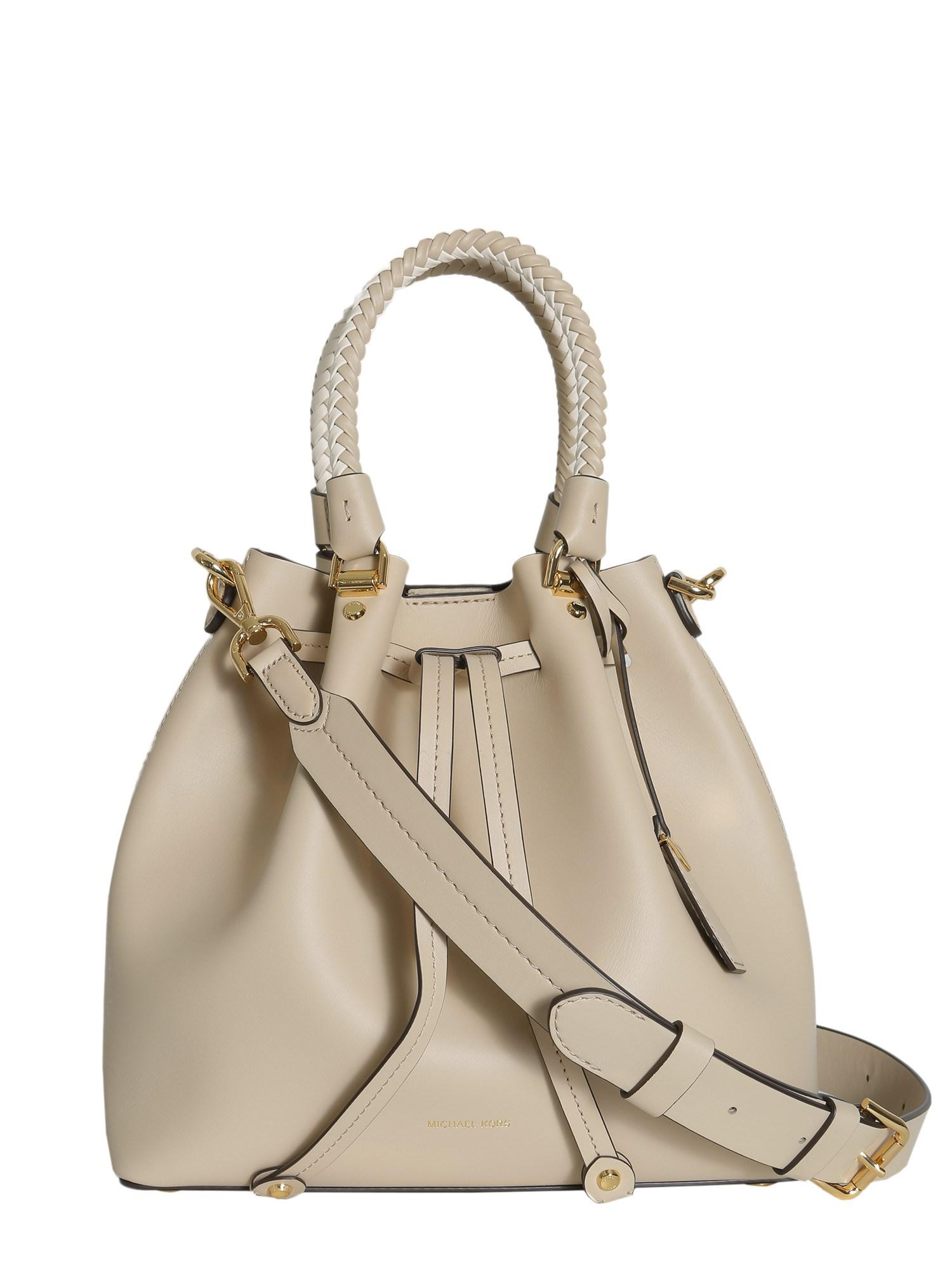 581328e95d9d Lyst - MICHAEL Michael Kors Blakely Medium Leather Bucket Bag