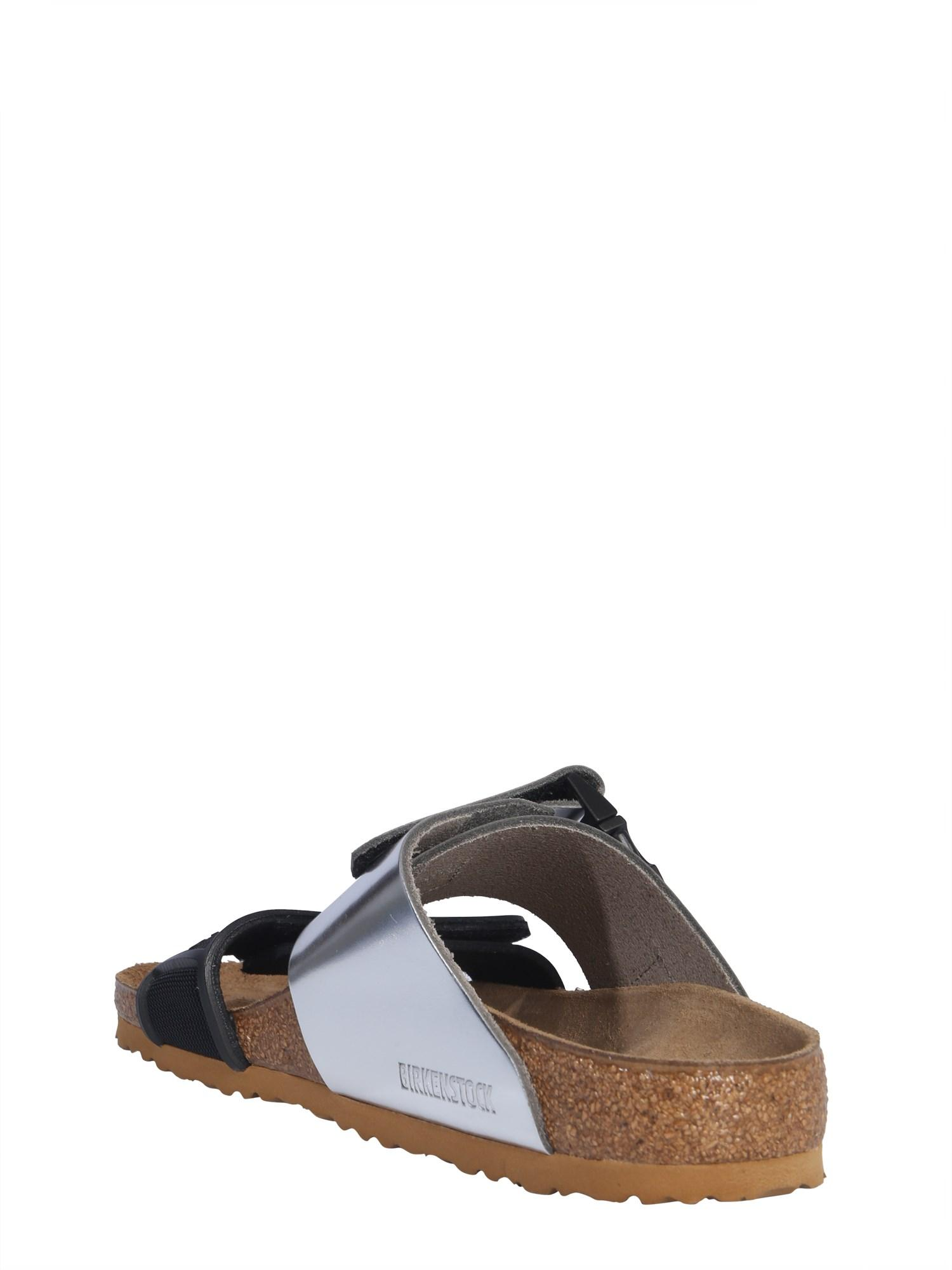 45ab44ce7823 Rick Owens Leather Rotterdam Sandals - Lyst