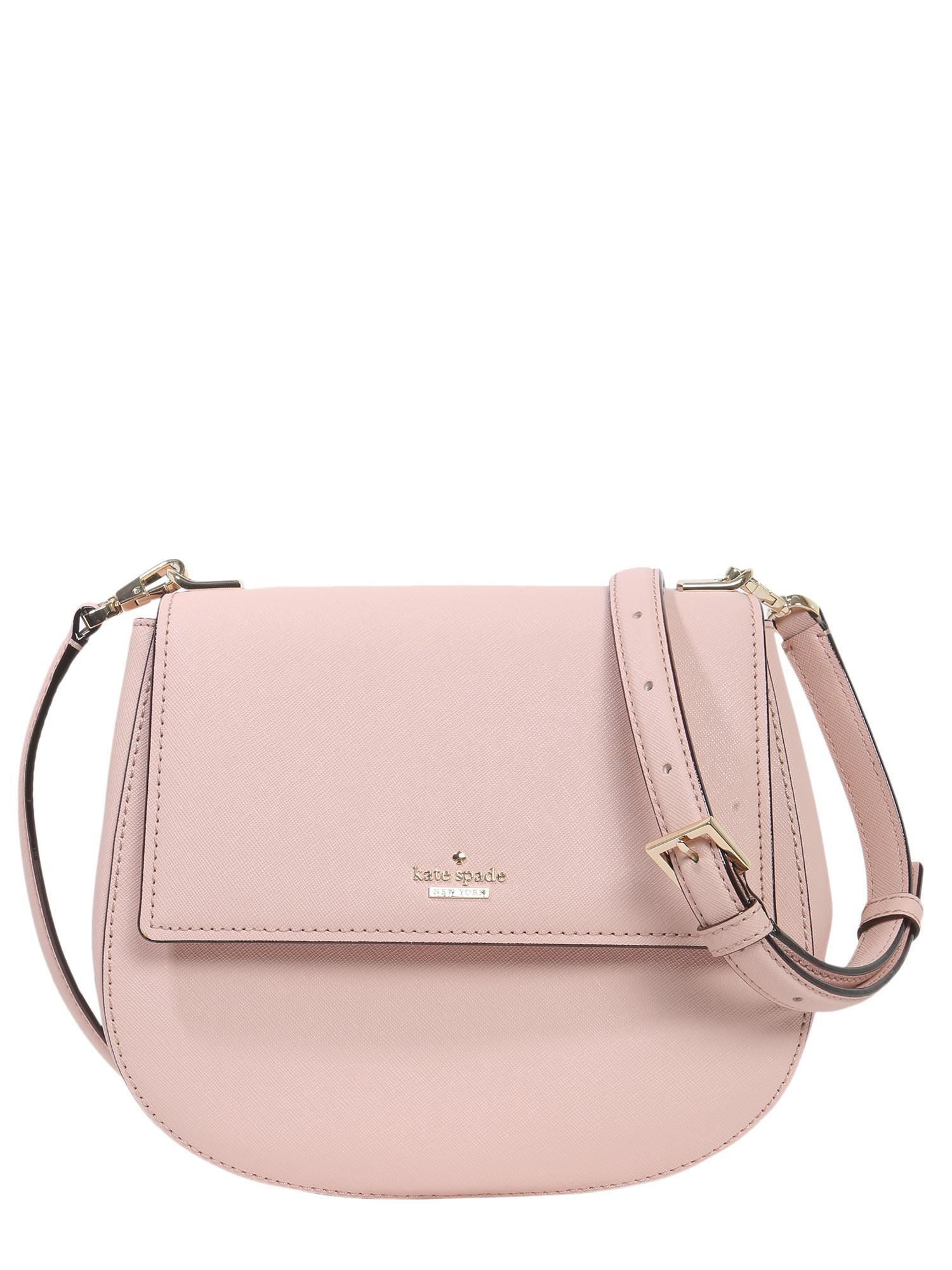 Kate Spade Women S Pink Cameron Street Byr Leather Crossbody Bag