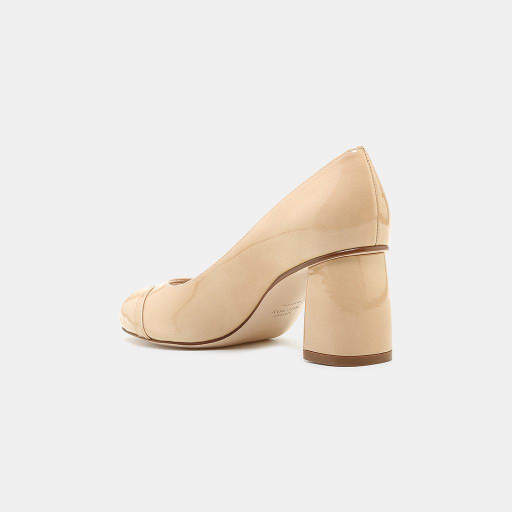 Stuart Weitzman Tabeta Aniline Leather Peep-Toe Shoe (Women's) XL316Jgzll