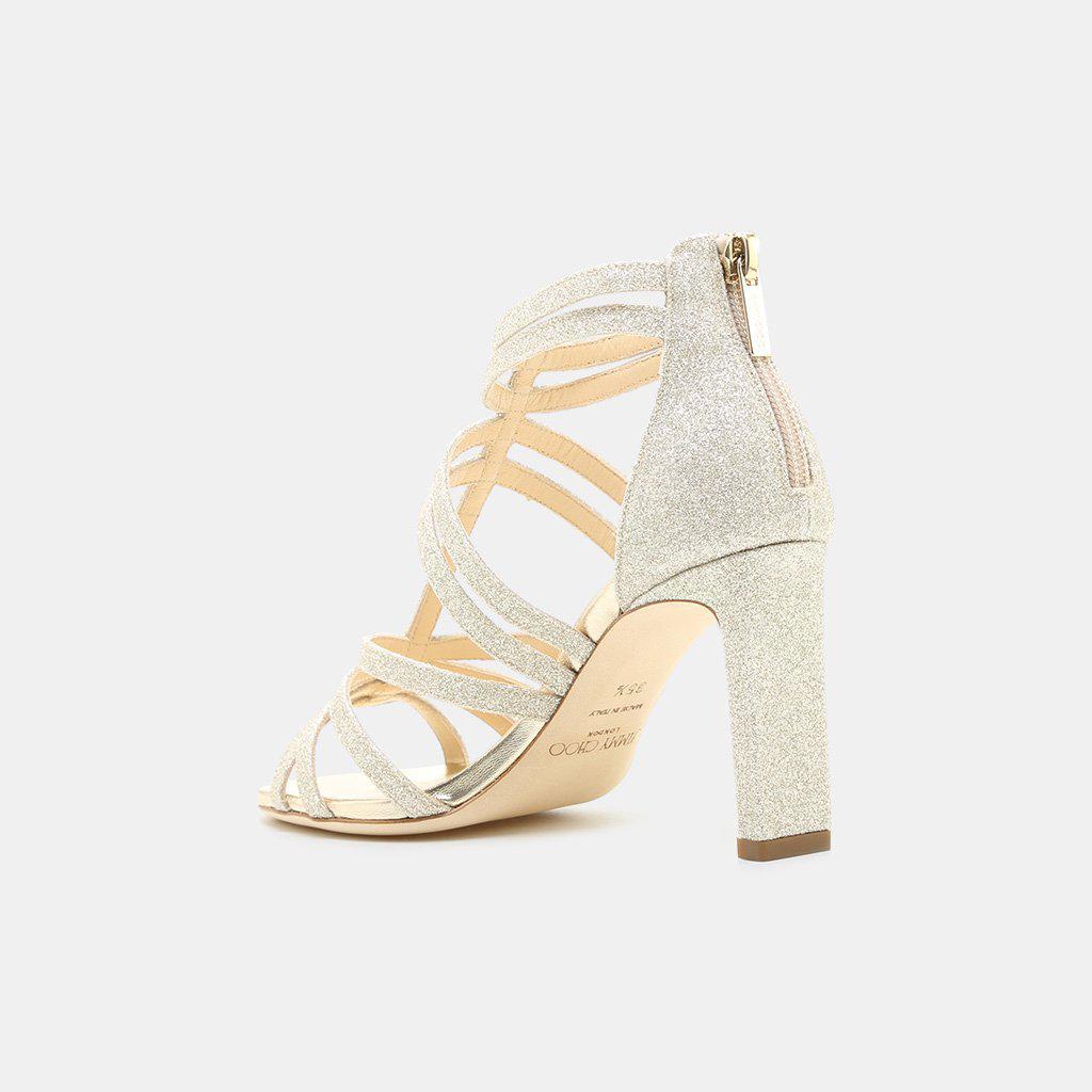 Selina 85 suede sandals Jimmy Choo London TJtoA
