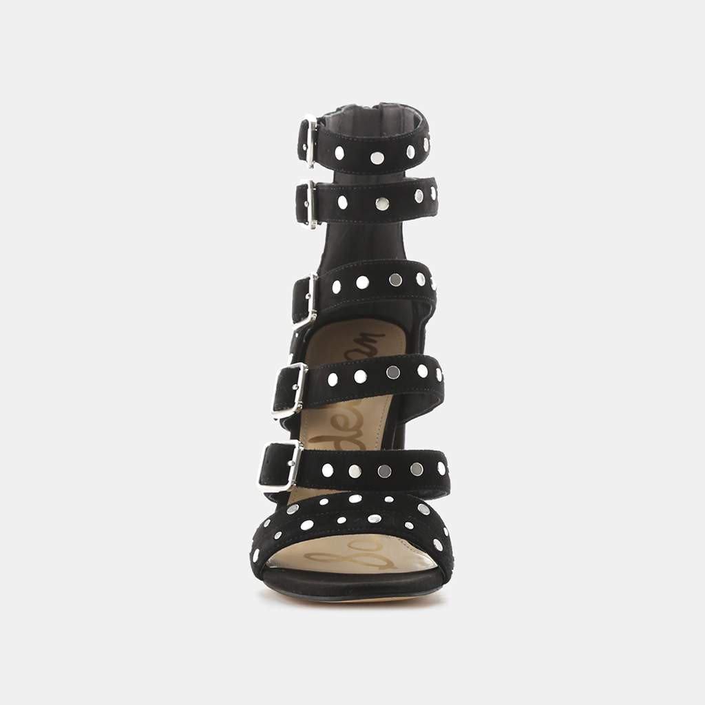 77501d886490 Lyst - Sam Edelman York Studded Sandal in Black