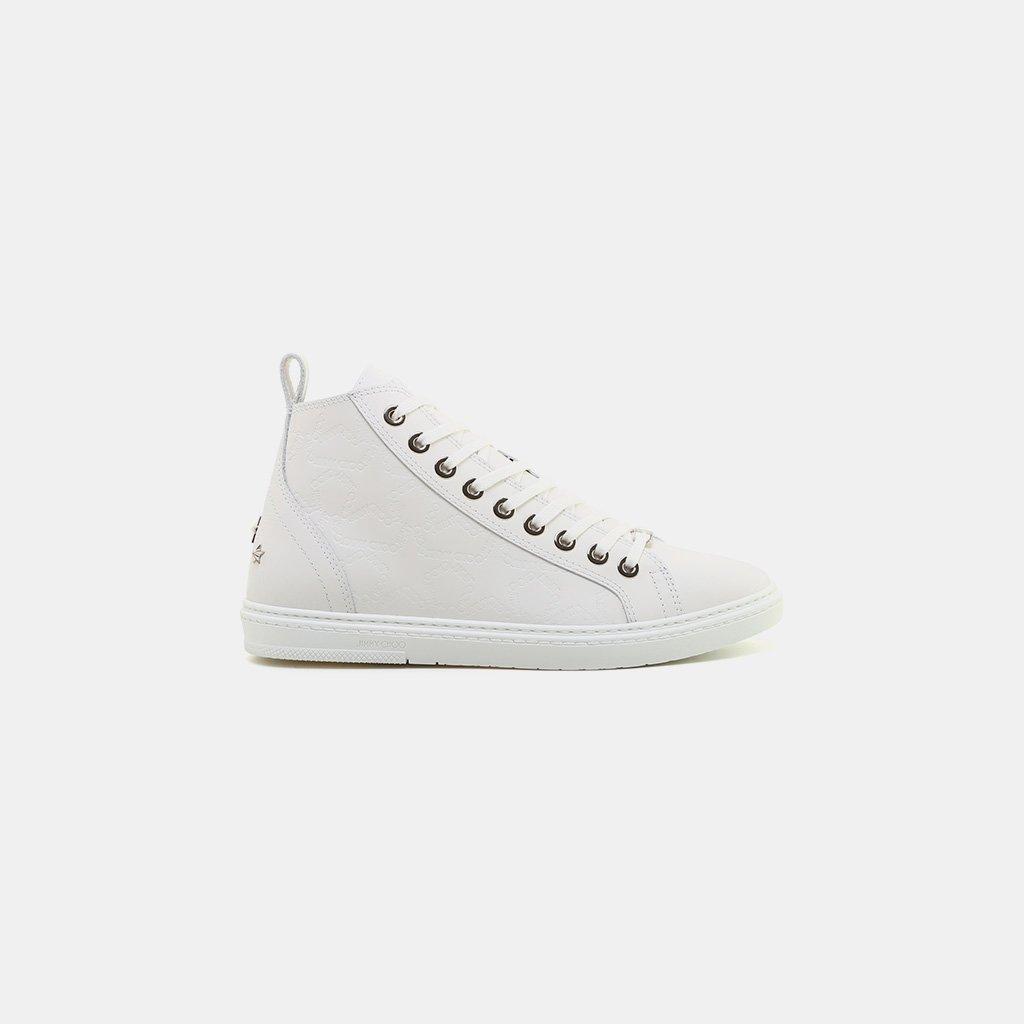 e337065155a0 Lyst - Jimmy Choo Colt High Top Sneaker in White for Men