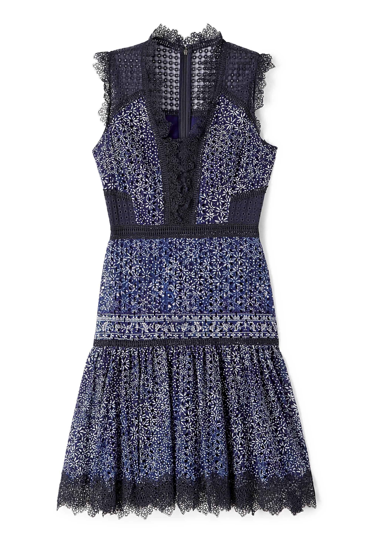 Lyst - Elie Tahari Shanna Dress in Blue