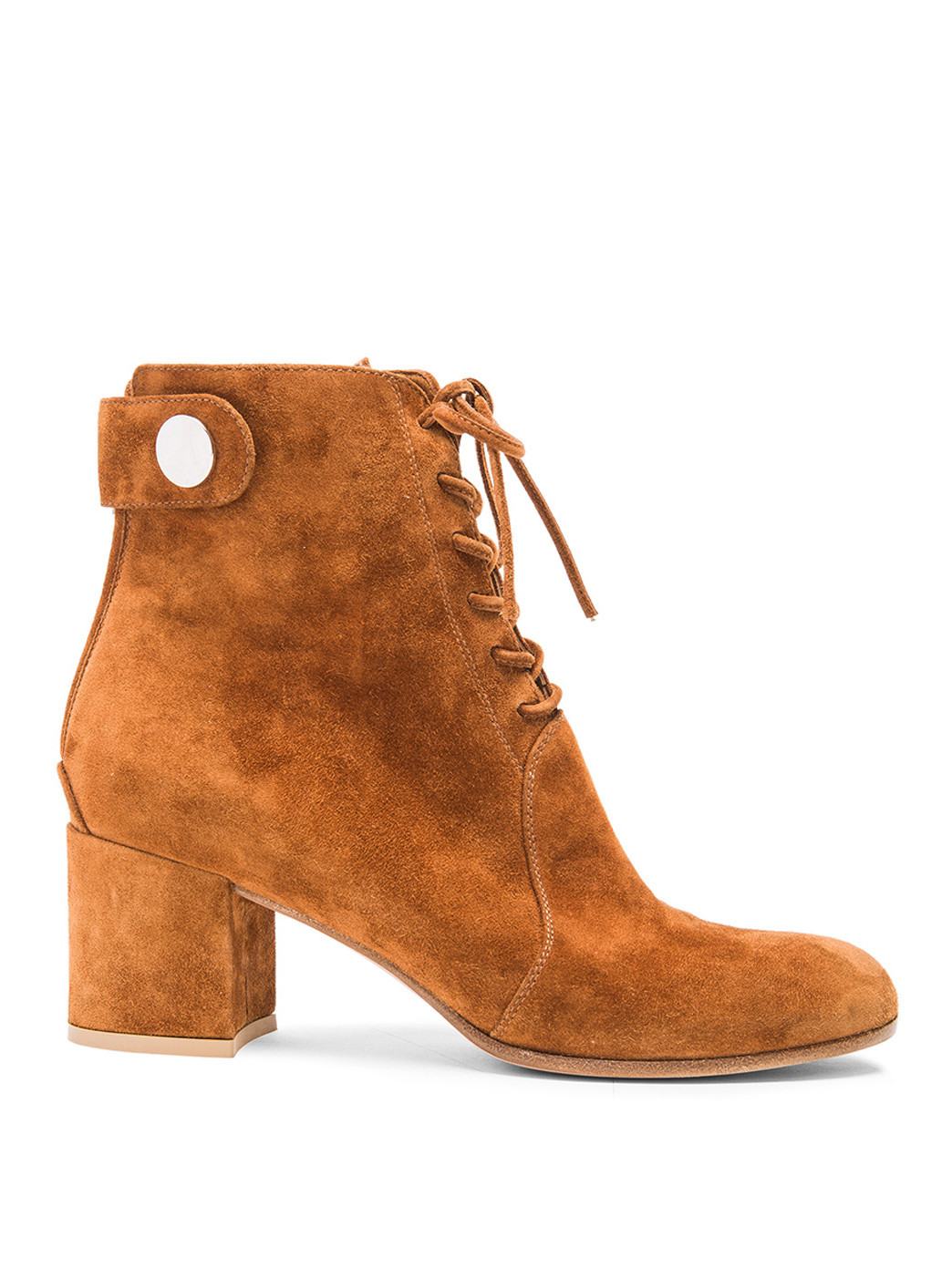 gianvito suede lace up boots in brown lyst