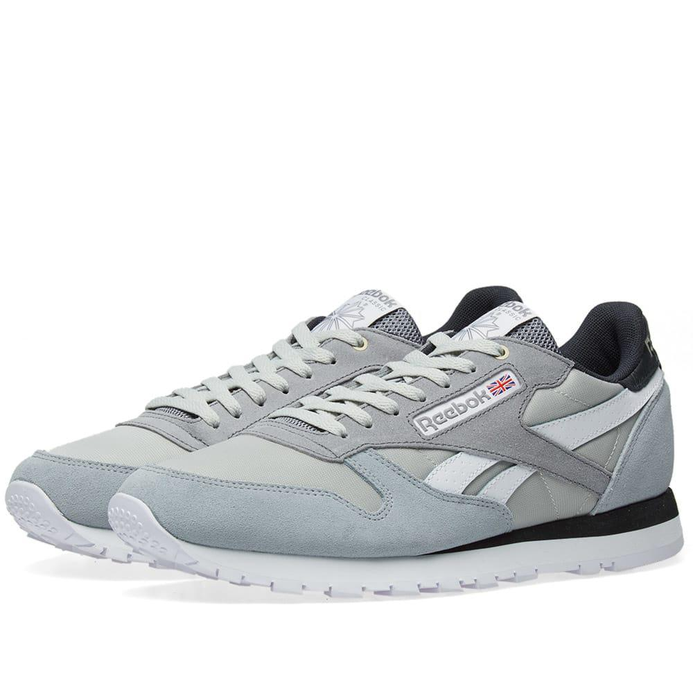 Lyst - Reebok X Montana Cans Paint Classic Leather in Gray for Men b2df5f026