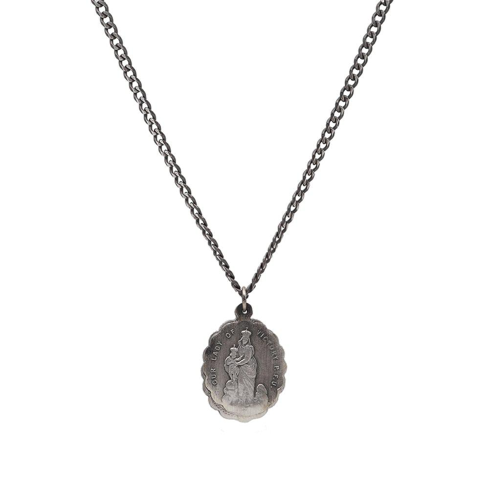 oxidized jewelry silver gallery in metallic miansai lyst saints normal product necklace men for
